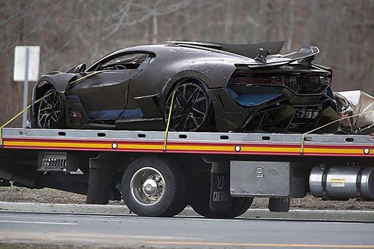 Bugatti Divo Crash Is A Fake