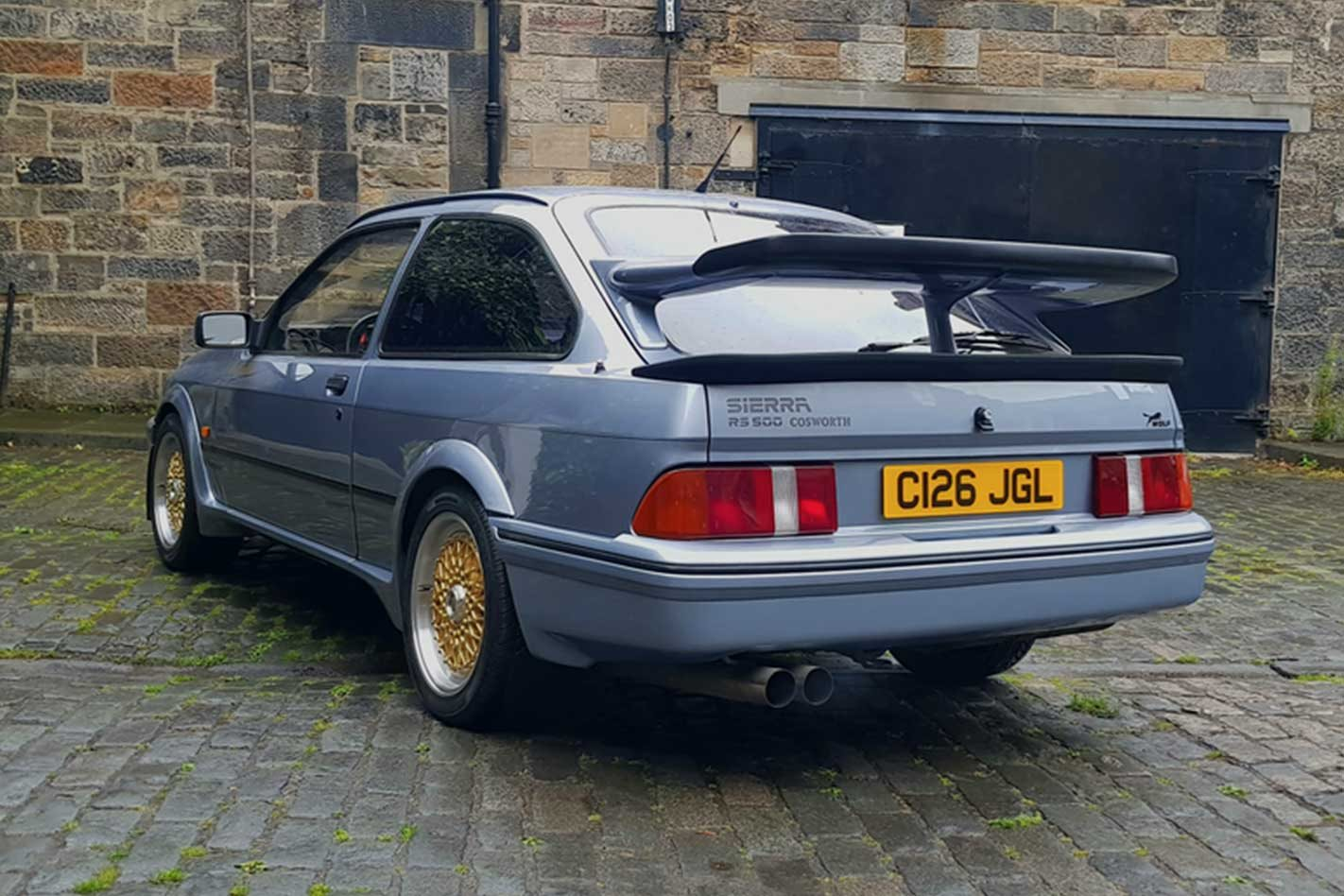 dtm tuned ford sierra cosworth rs500 to auction. Black Bedroom Furniture Sets. Home Design Ideas