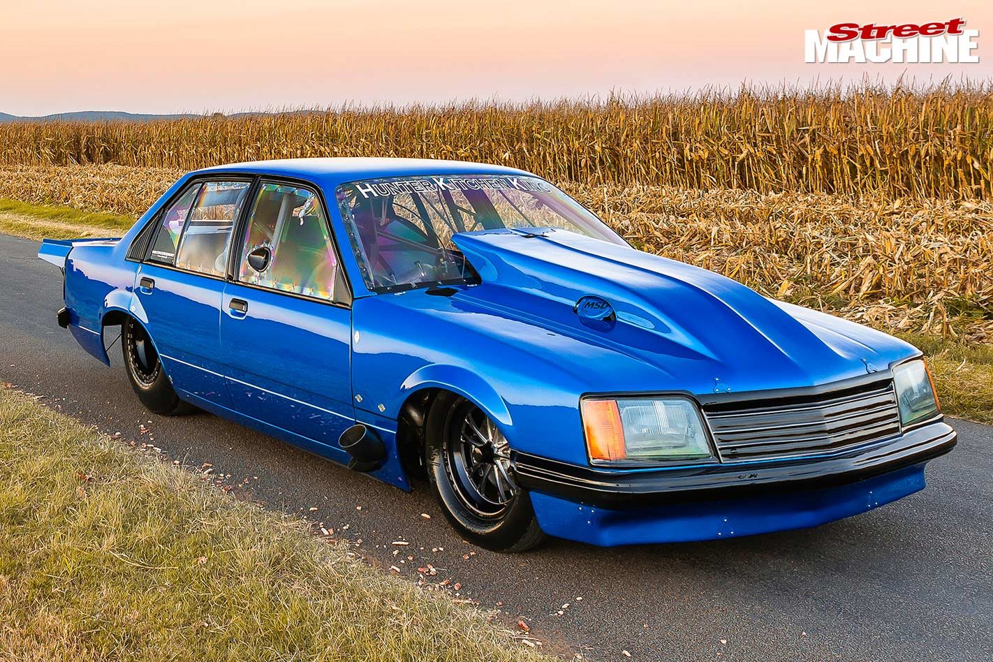 Jeremy Martin's five-second 4000hp Holden VB Commodore