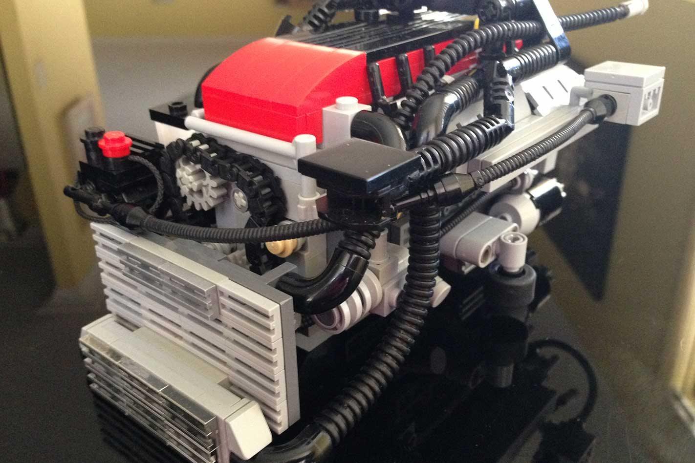 How one man built the LEGO Ford Barra