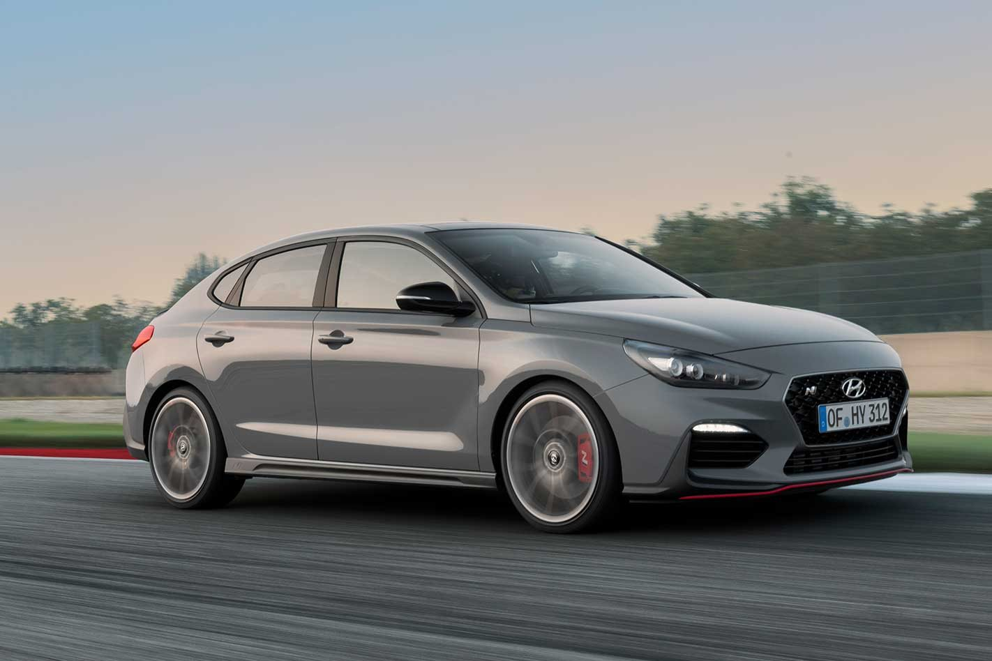 2019 hyundai i30 fastback n revealed. Black Bedroom Furniture Sets. Home Design Ideas