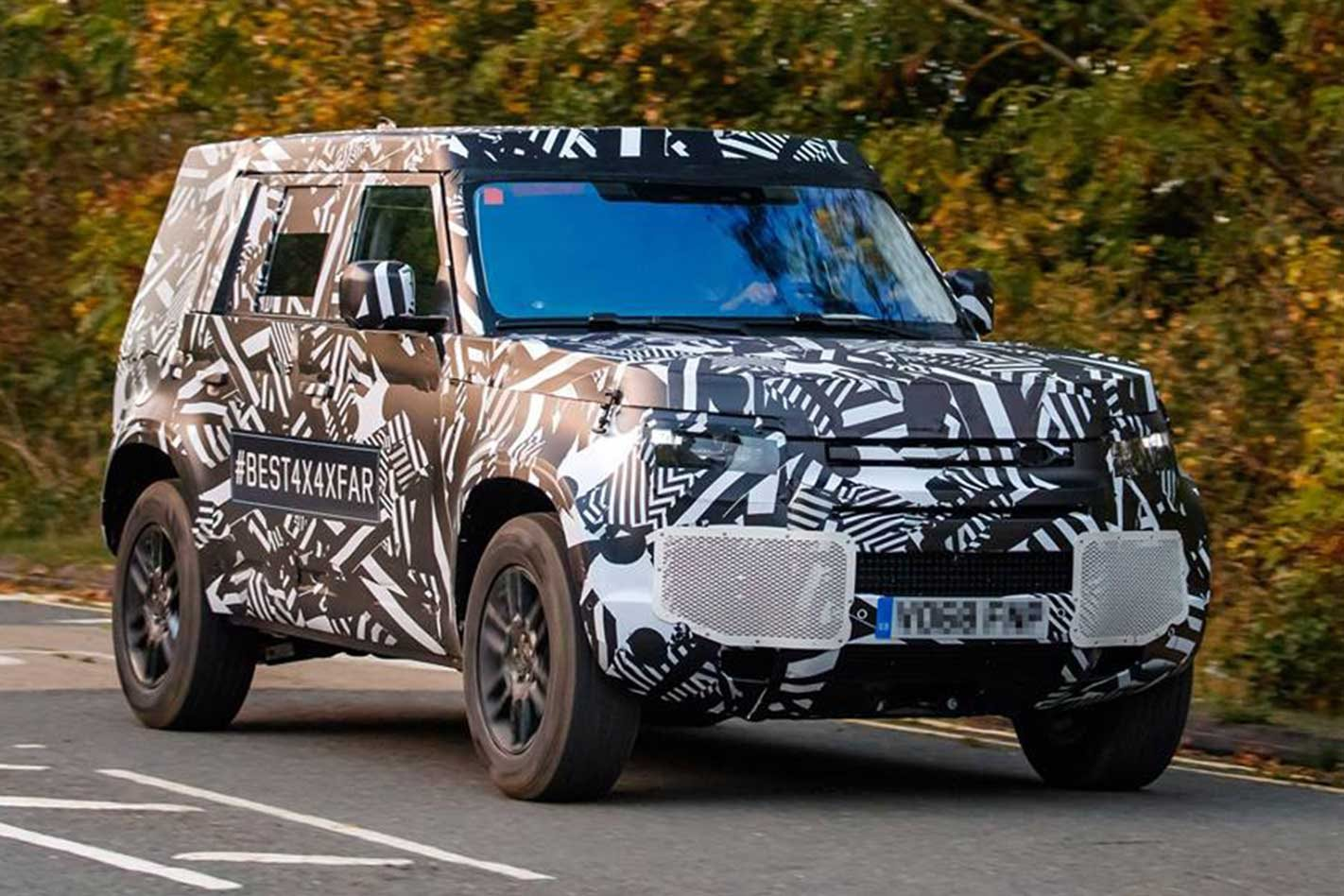 2020 Land Rover Defender replacement breaks cover