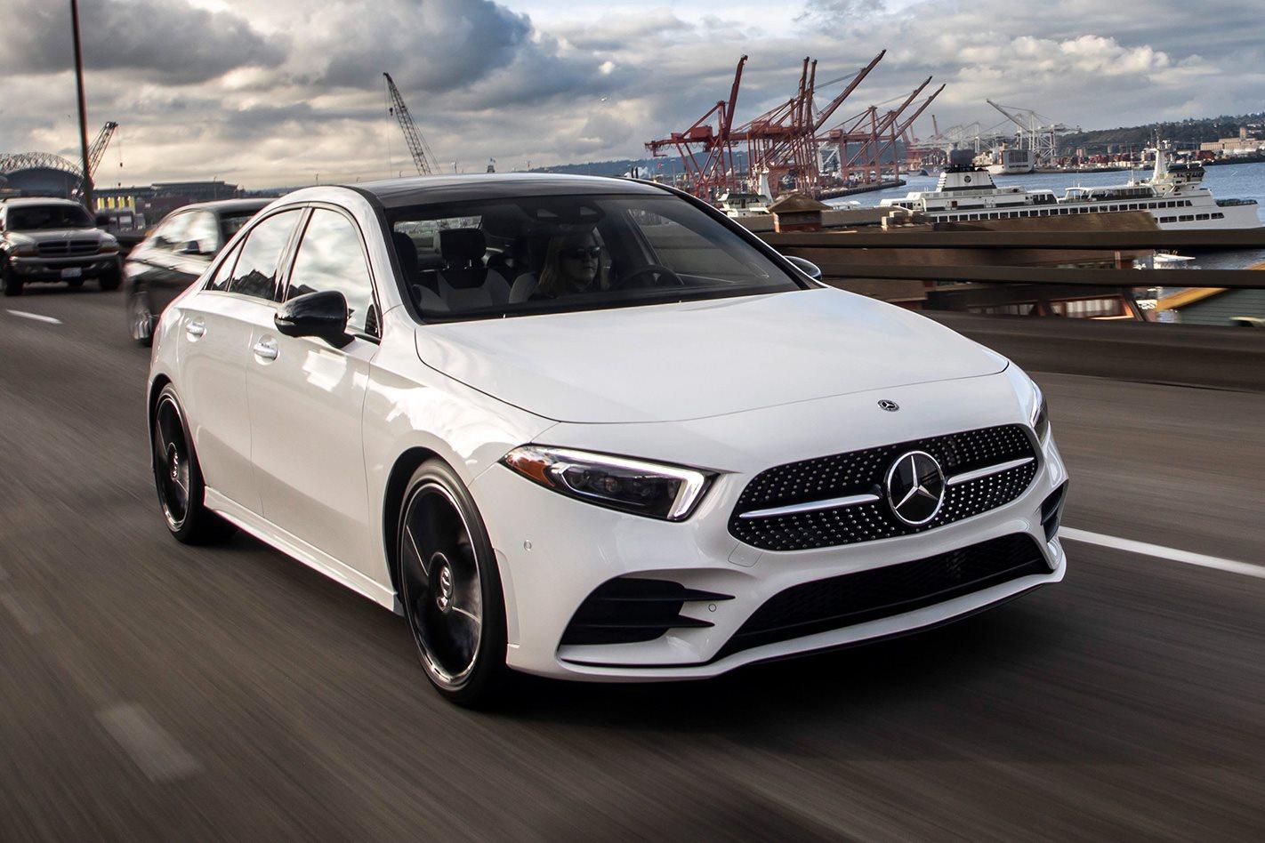 2019 Mercedes Benz A Class Sedan Review