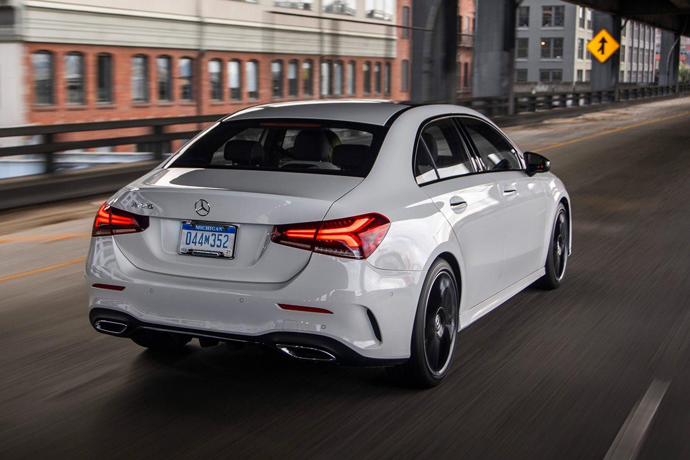 What Is A Sedan >> 2019 Mercedes Benz A Class Sedan Review