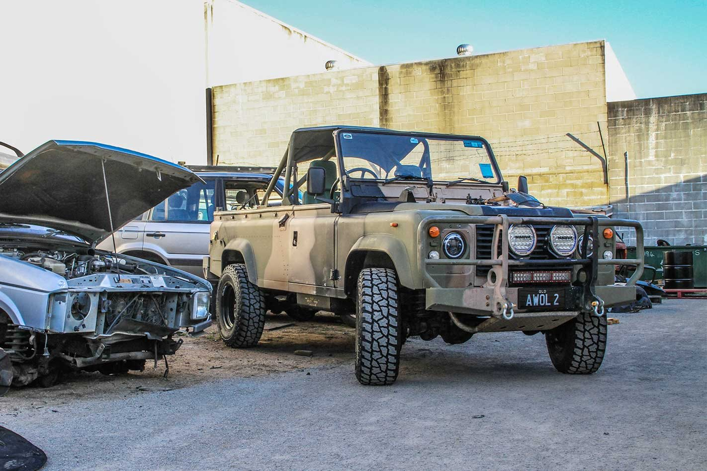 1988 Land Rover Perentie Defender 110 long-term review part 3: 4x4 Shed