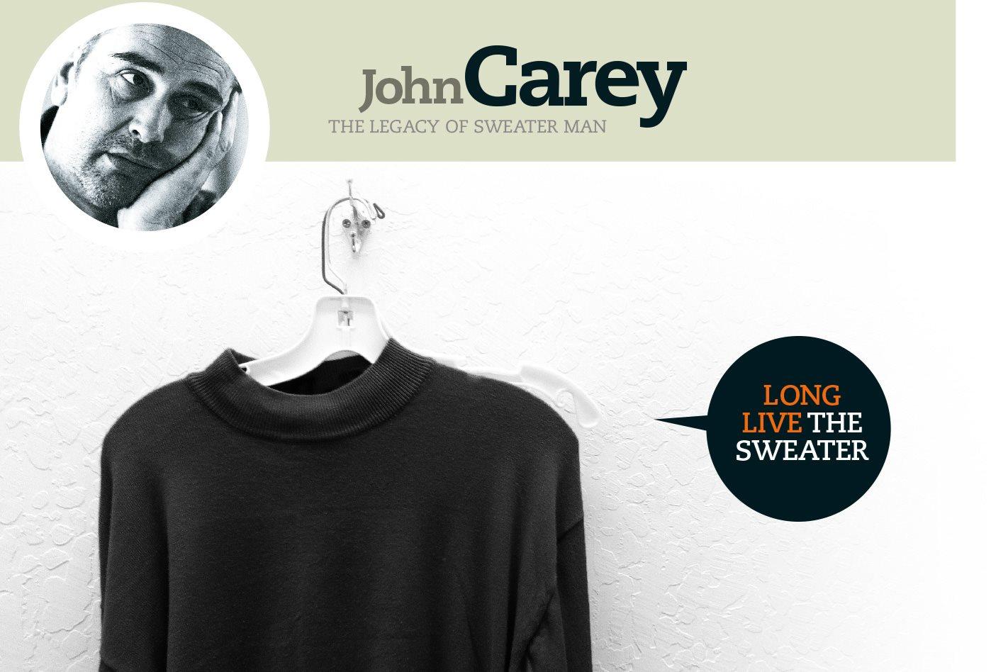 John Carey Remembers Sergio Marchionne Alfa Romeo Sweater