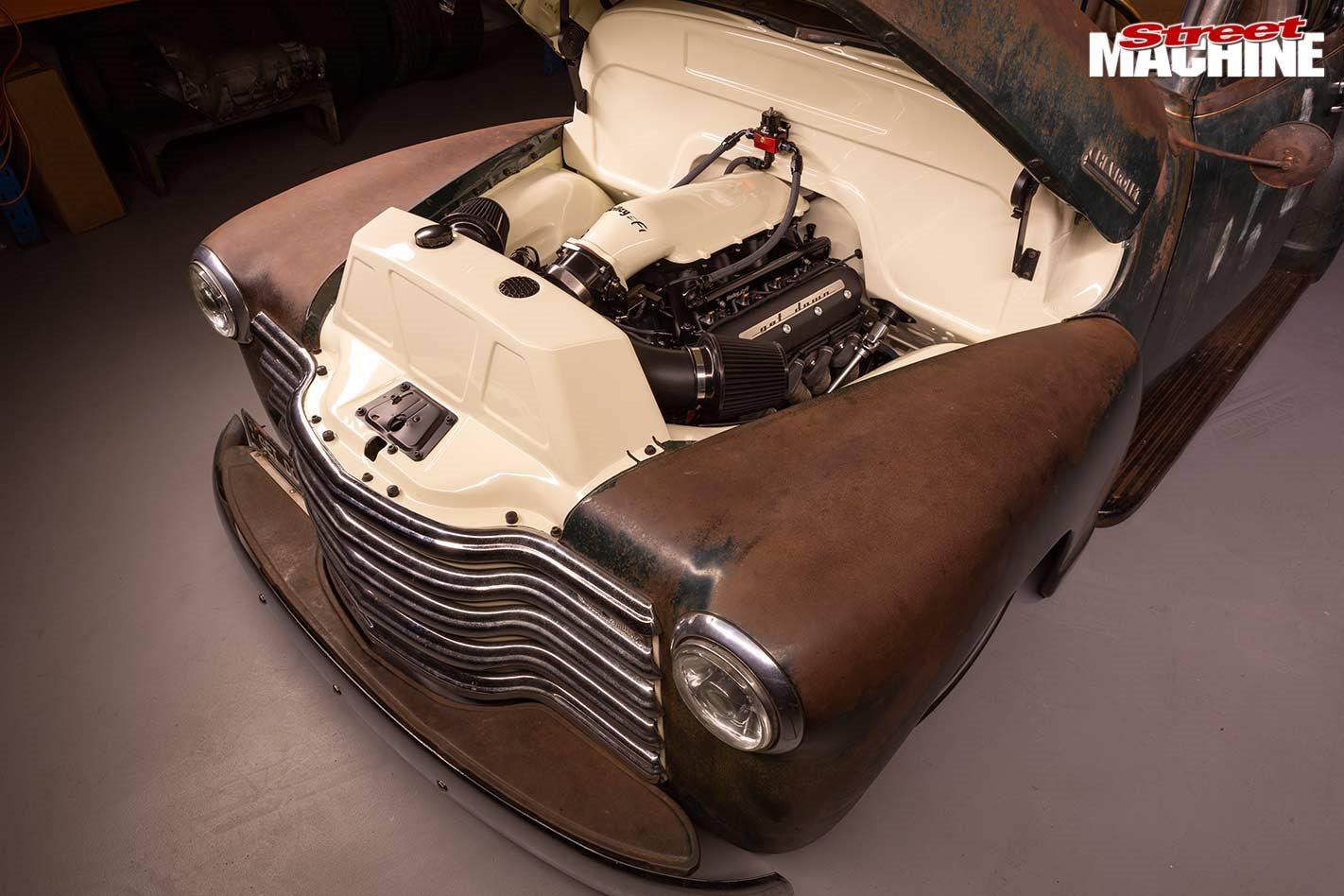 Slammed Ls3 Powered 1951 Chevrolet 3100 Pick Up