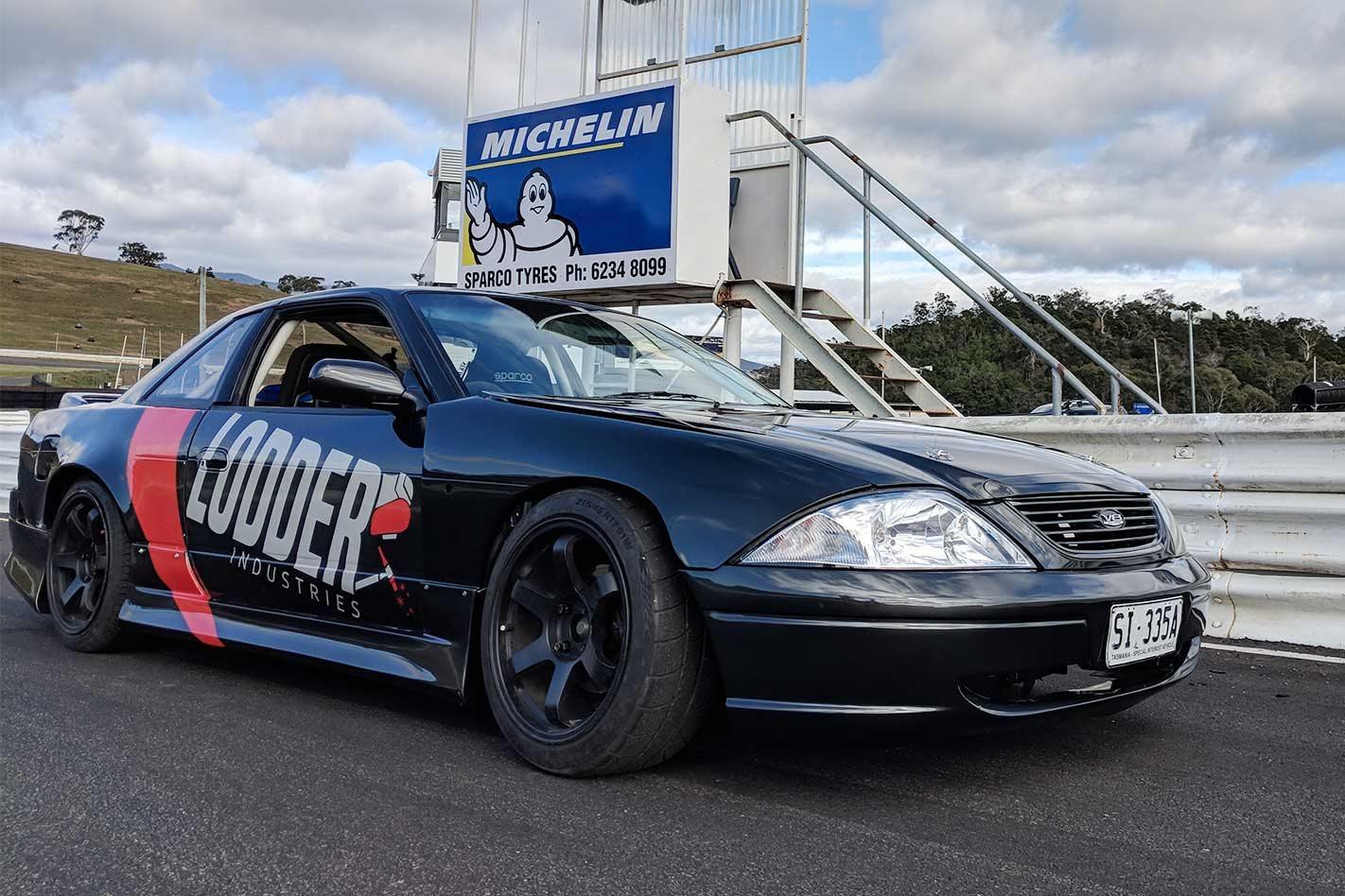 Nissan Silvia S13 Drift Car With Au Falcon Front Built In Tasmania