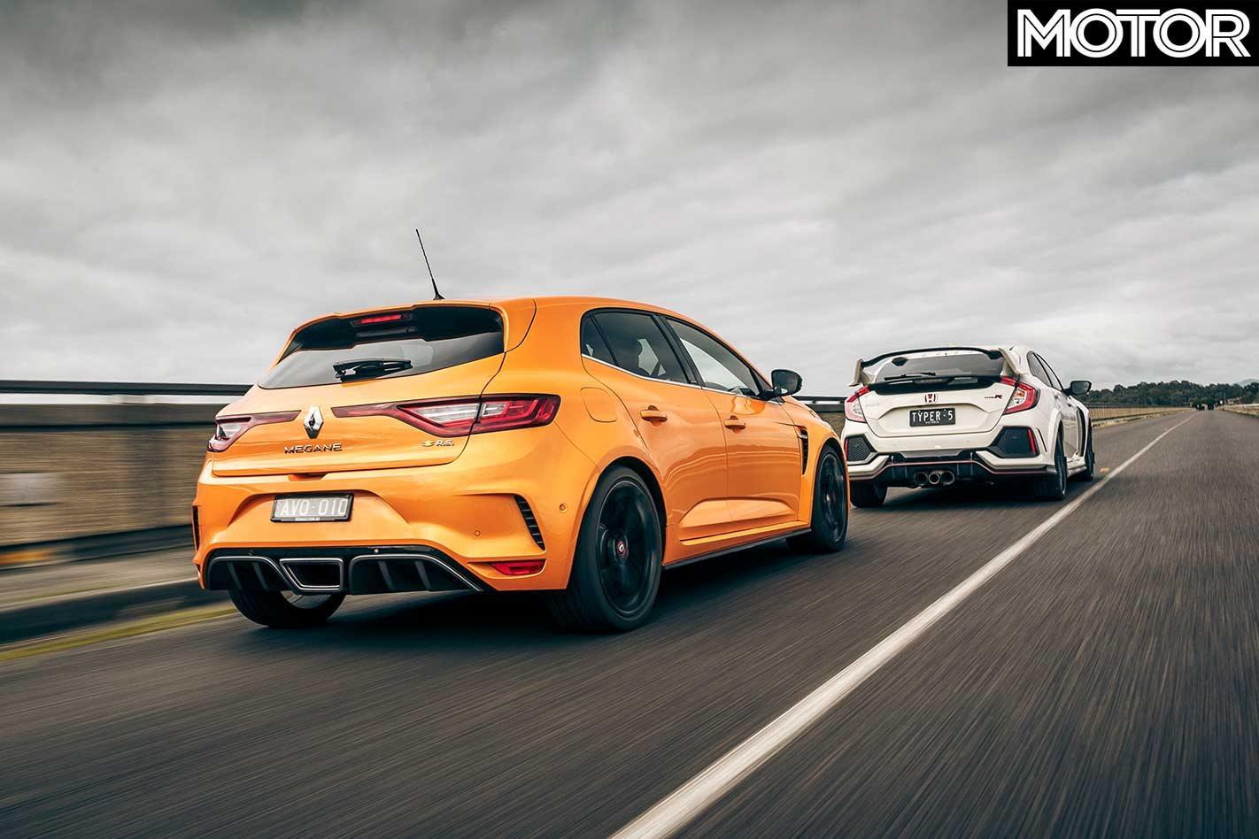 2018 Renault Mégane RS 280 vs Honda Civic Type R vs Hyundai i30 N vs