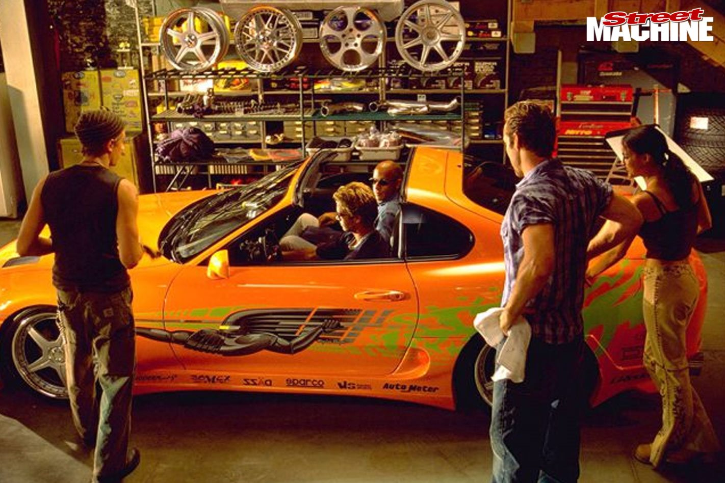 The Fast The Furious 2001 Ripper Car Movies