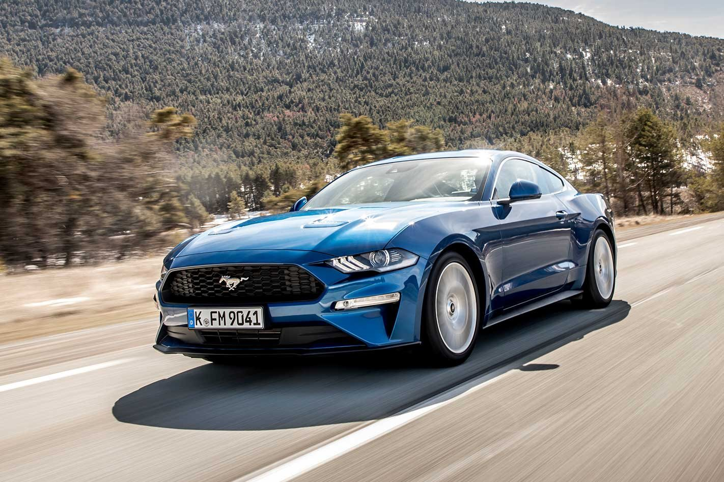 2018 ford mustang ecoboost launches in australia