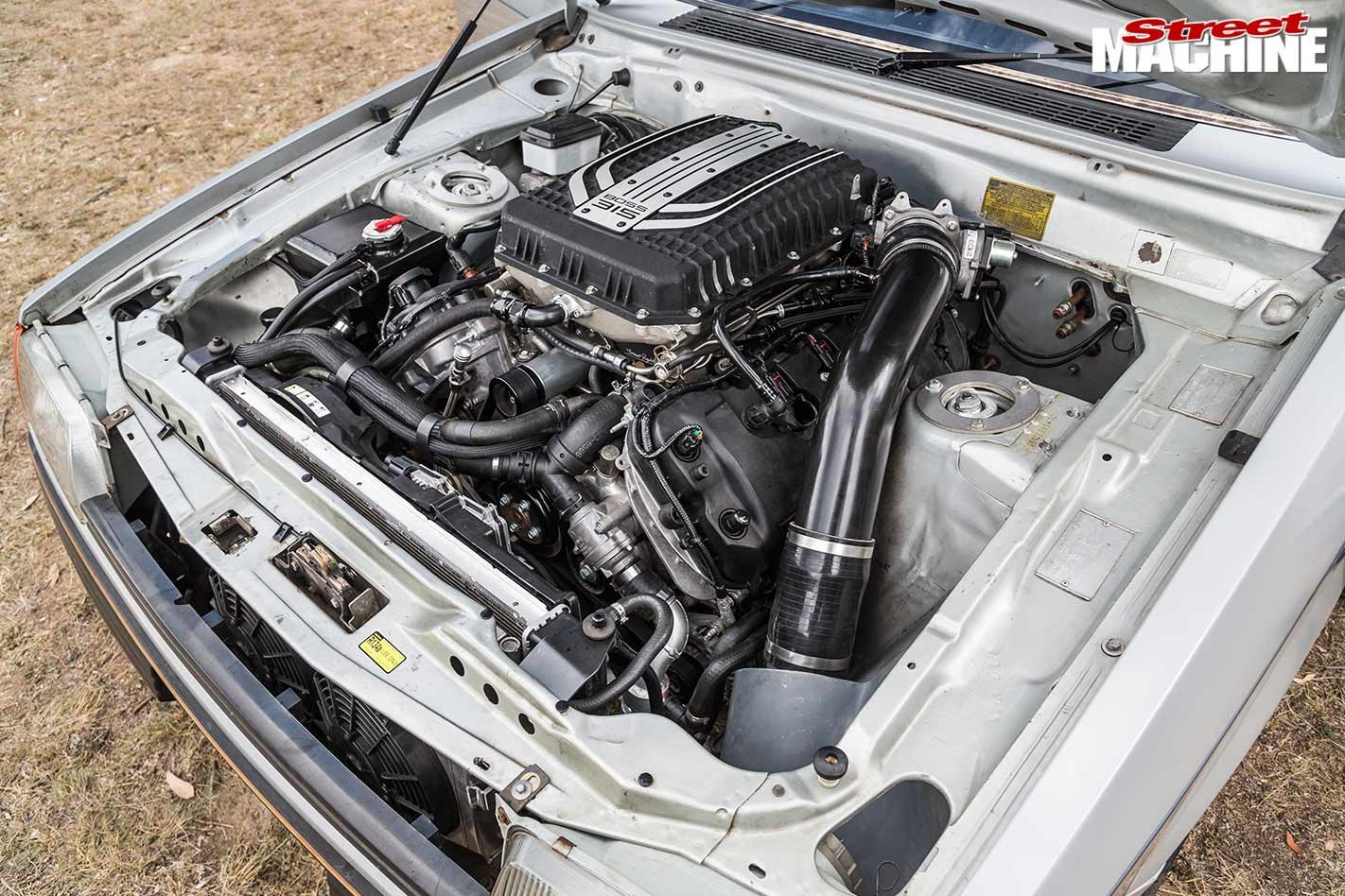 Coyote supercharged-V8 swapped Ford XE Falcon