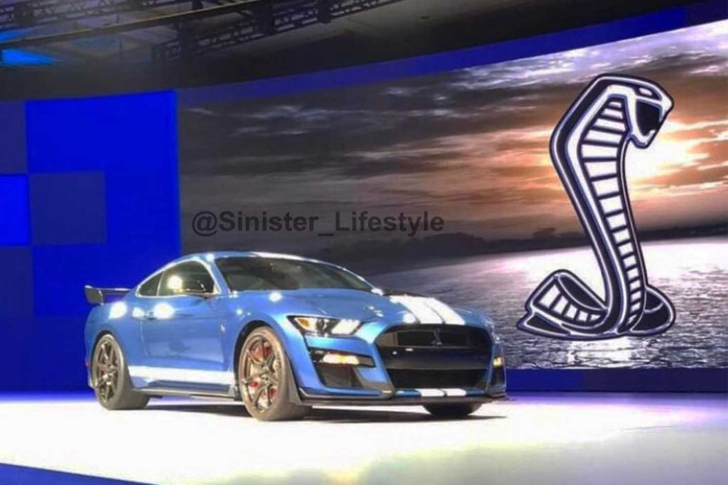 2019 ford mustang shelby gt500 image leaked