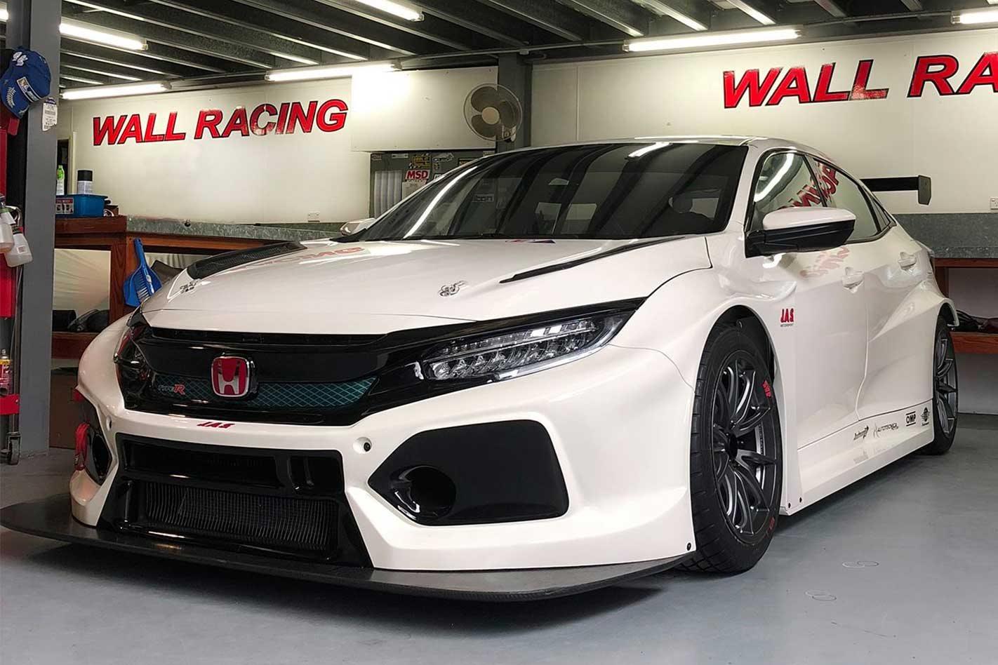 Honda Civic Type R Tcr Racer Arrives In Australia For 2019