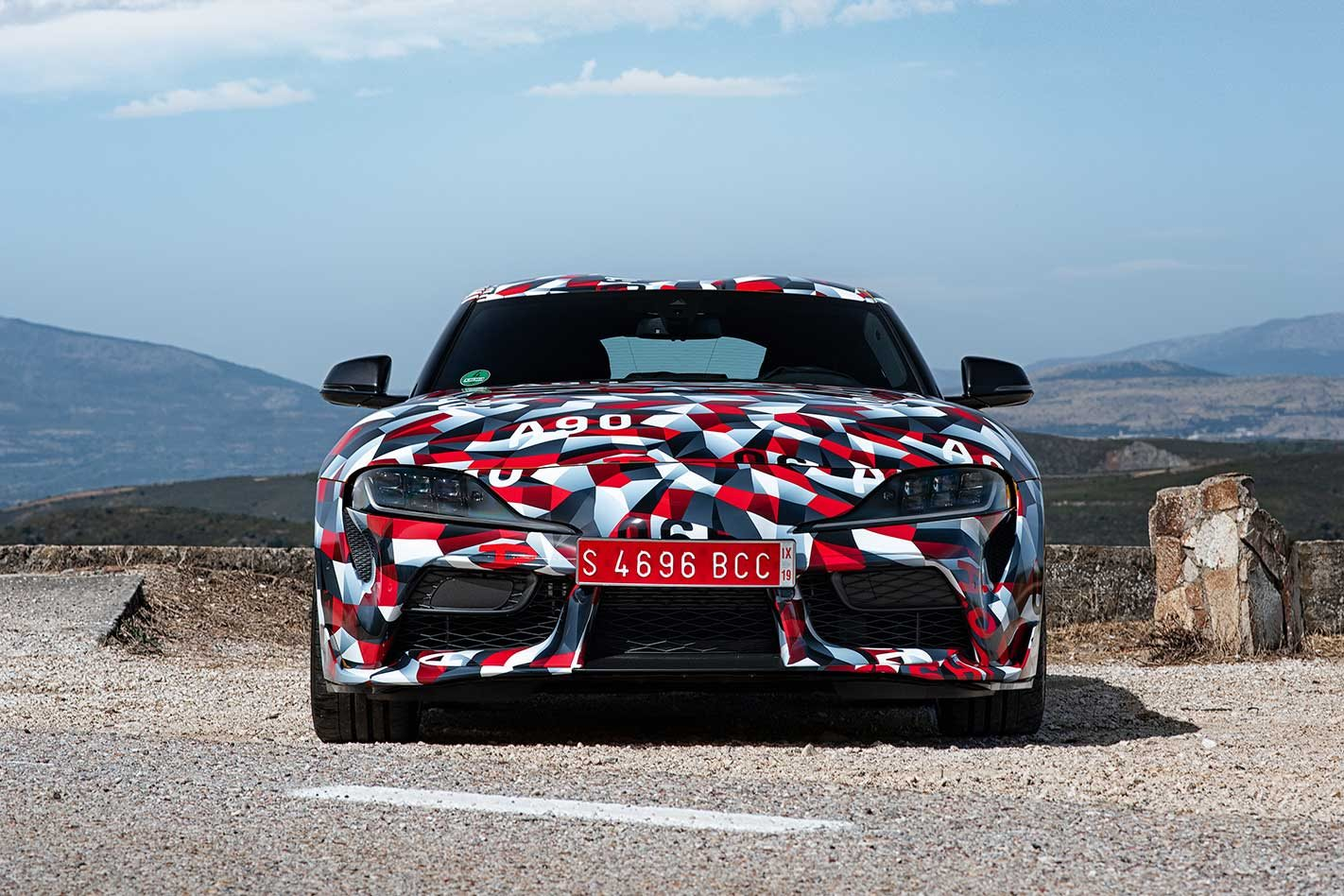 2019 Toyota A90 Supra Engine Uncovered