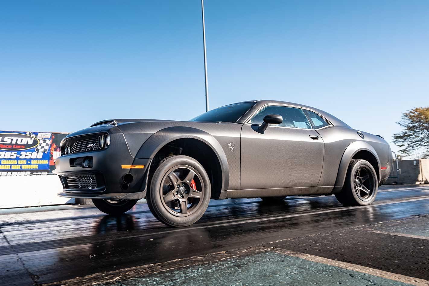 Twin Turbo Carbon Fibre Dodge Challenger Demon Is Fastest