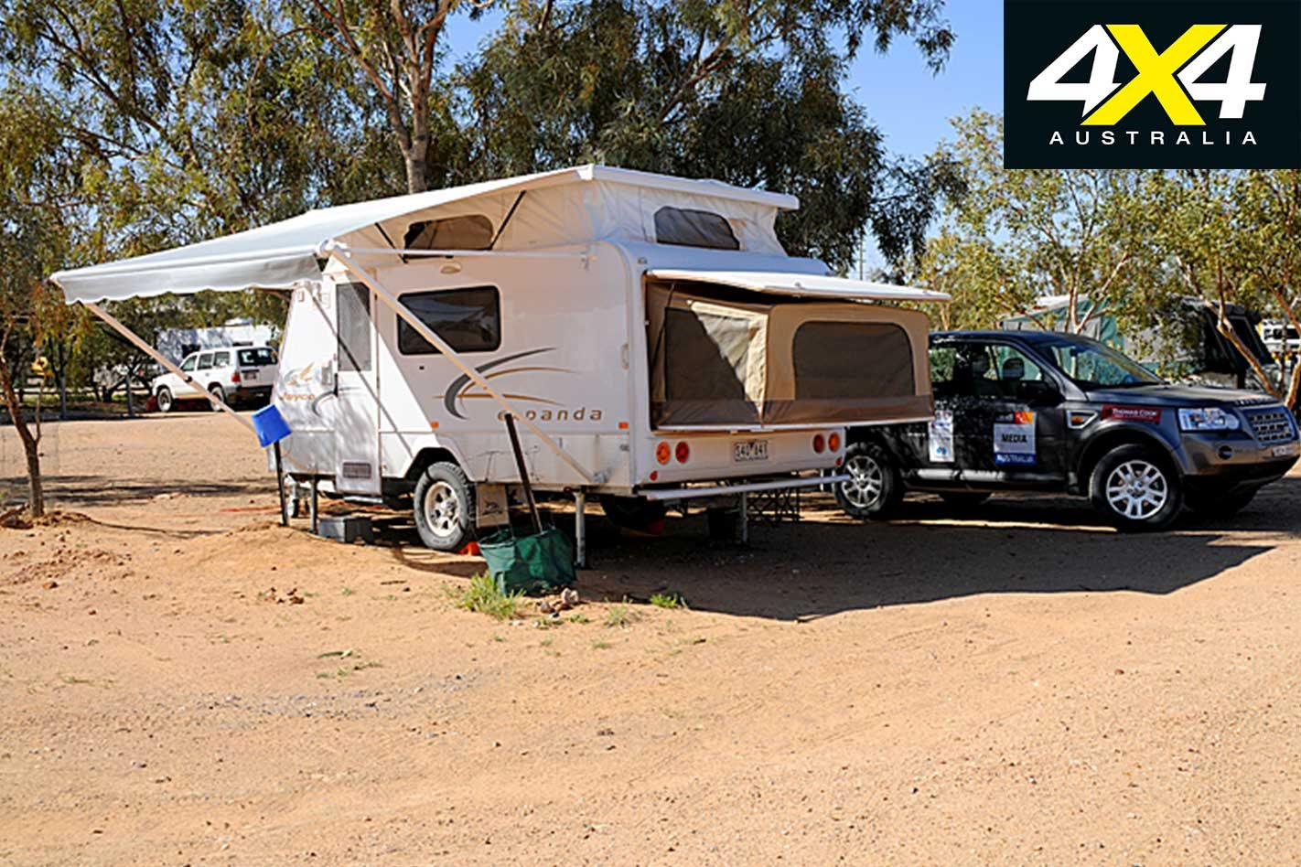 0fb367cd39 The entry level en-suite model with single drop-down double bed weighed in  at just over 1500kg in basic  Outback  spec.