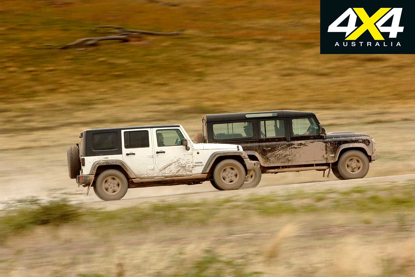 2009 Land Rover Defender Svx Vs Jeep Wrangler Unlimited 4x4
