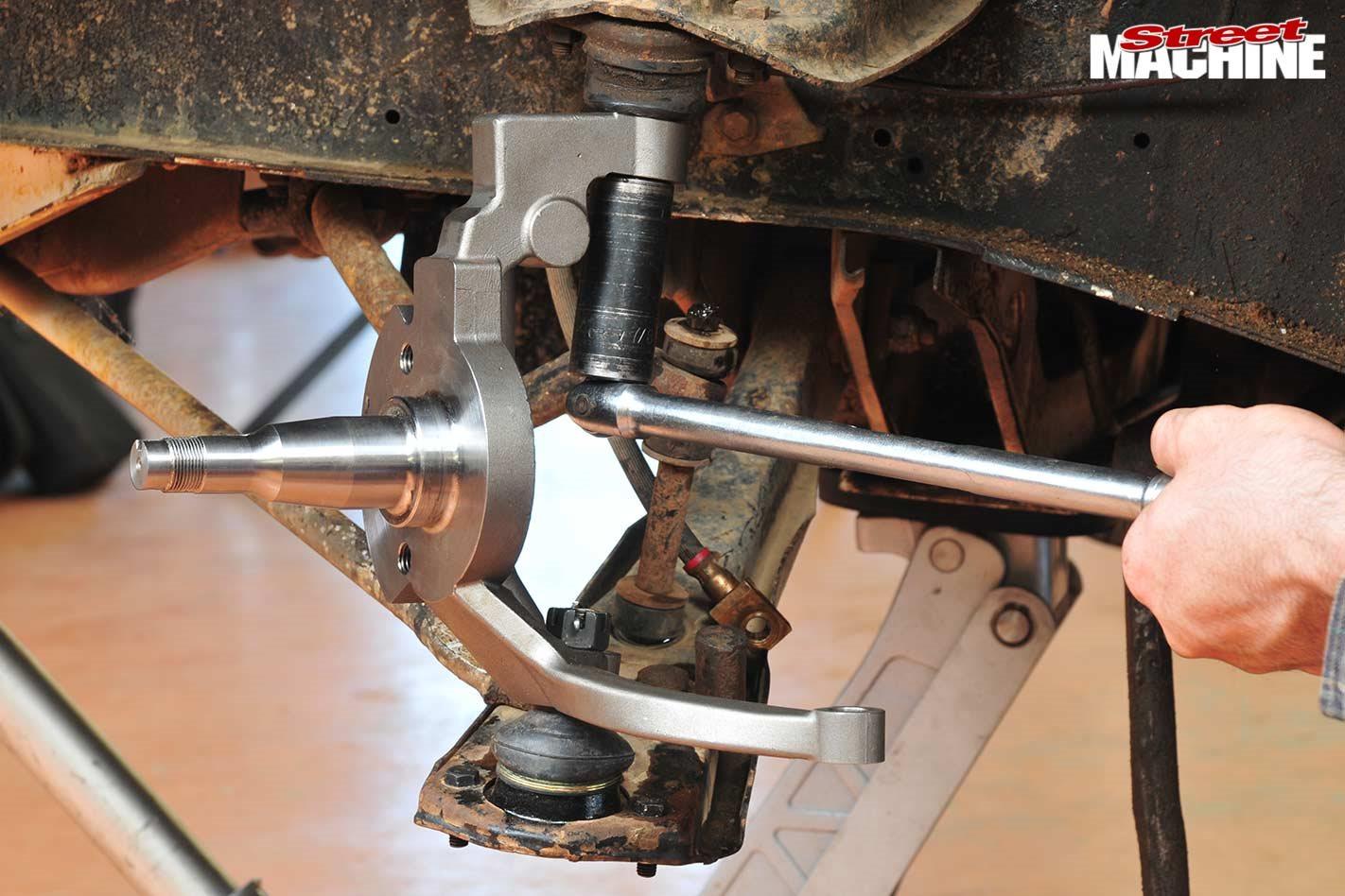 Stubtech Ford Falcon dropped stub-axles - tech torque
