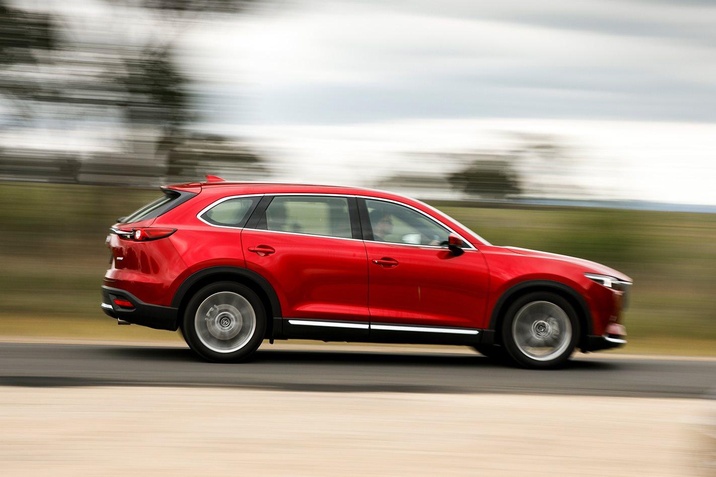Mazda CX-9 v Toyota Kluger comparison review