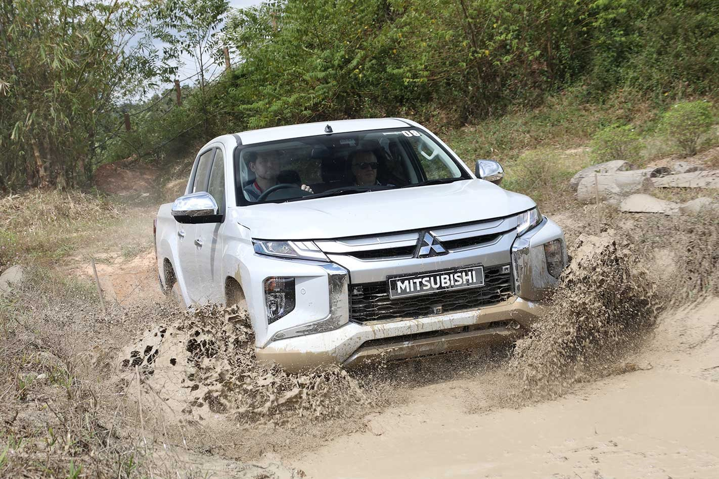 2019 Mitsubishi Triton first drive 4x4 review