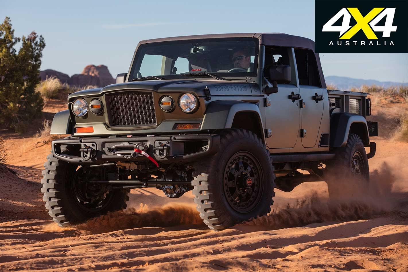 2016 Jeep Truck >> Jeep Gladiator 4x4 History Lesson