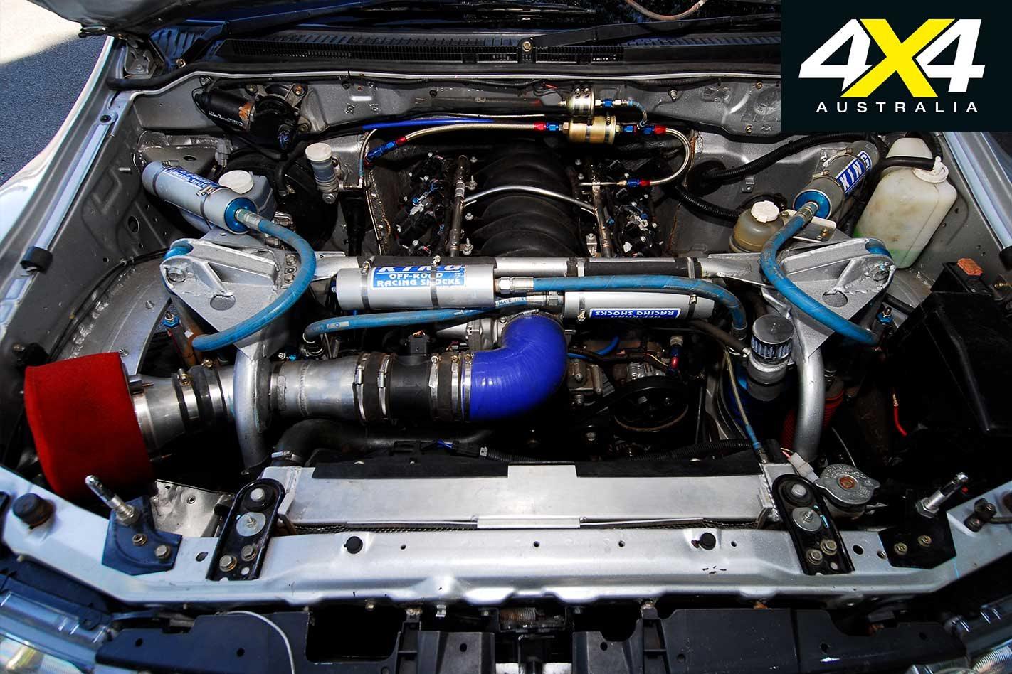 2008 Mitsubishi Pajero Safari Rally 4x4 review