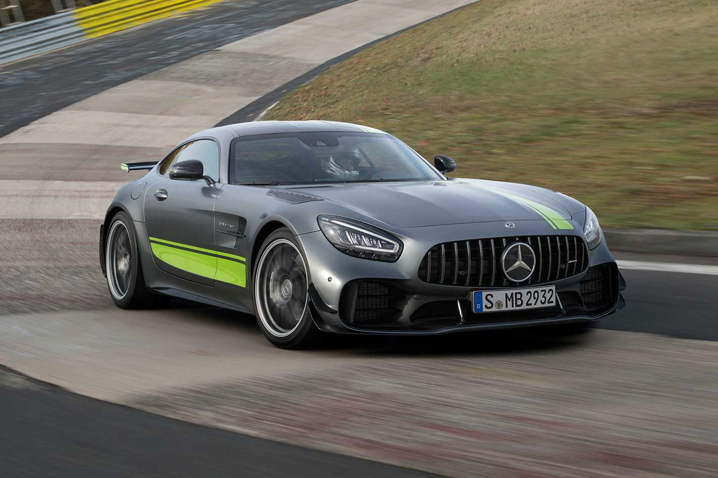 2019 Mercedes Amg Gt R Pro Heralds Facelifted Gt La Auto Show 2018