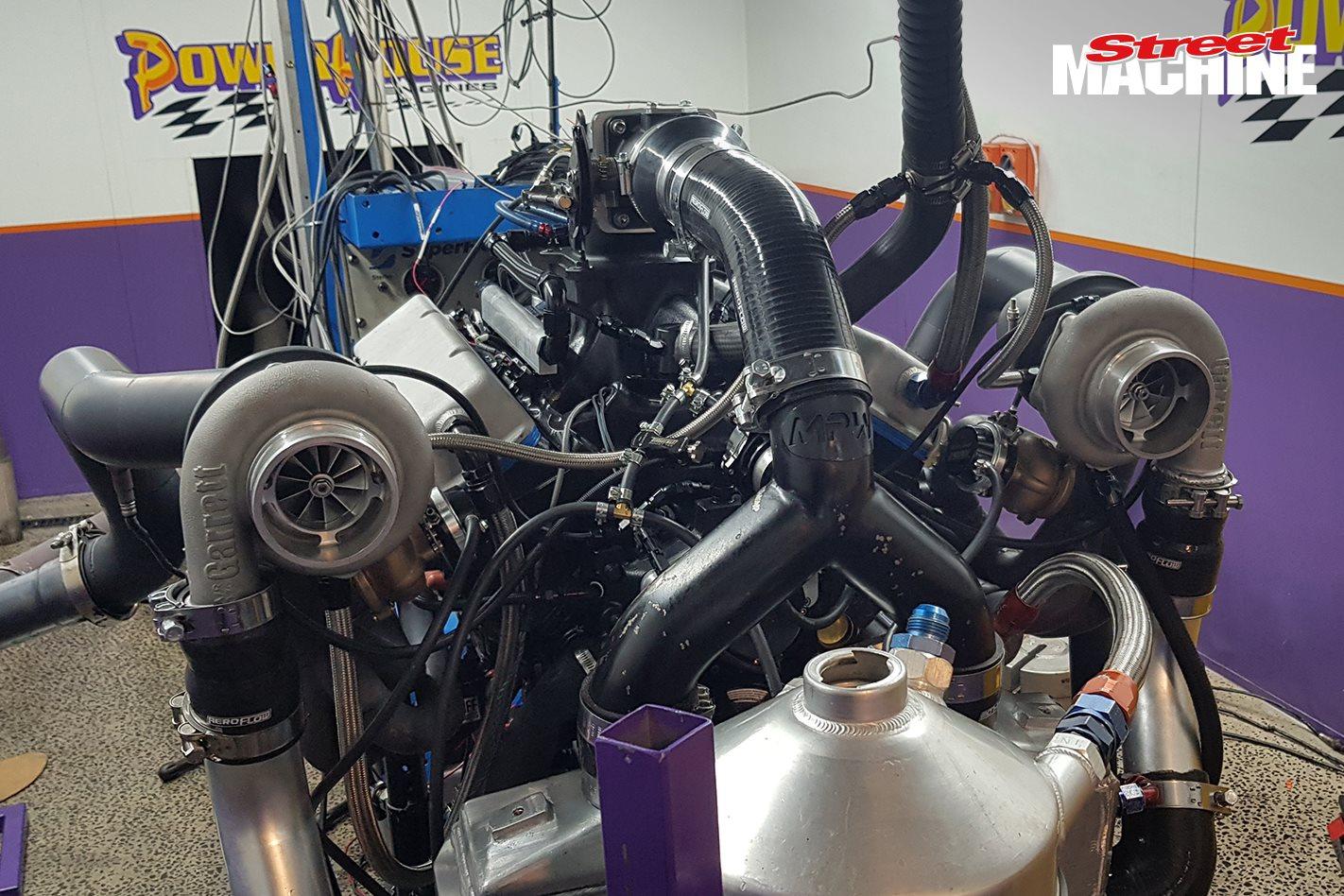 1200hp twin-turbo small-block Chev dyno – Video