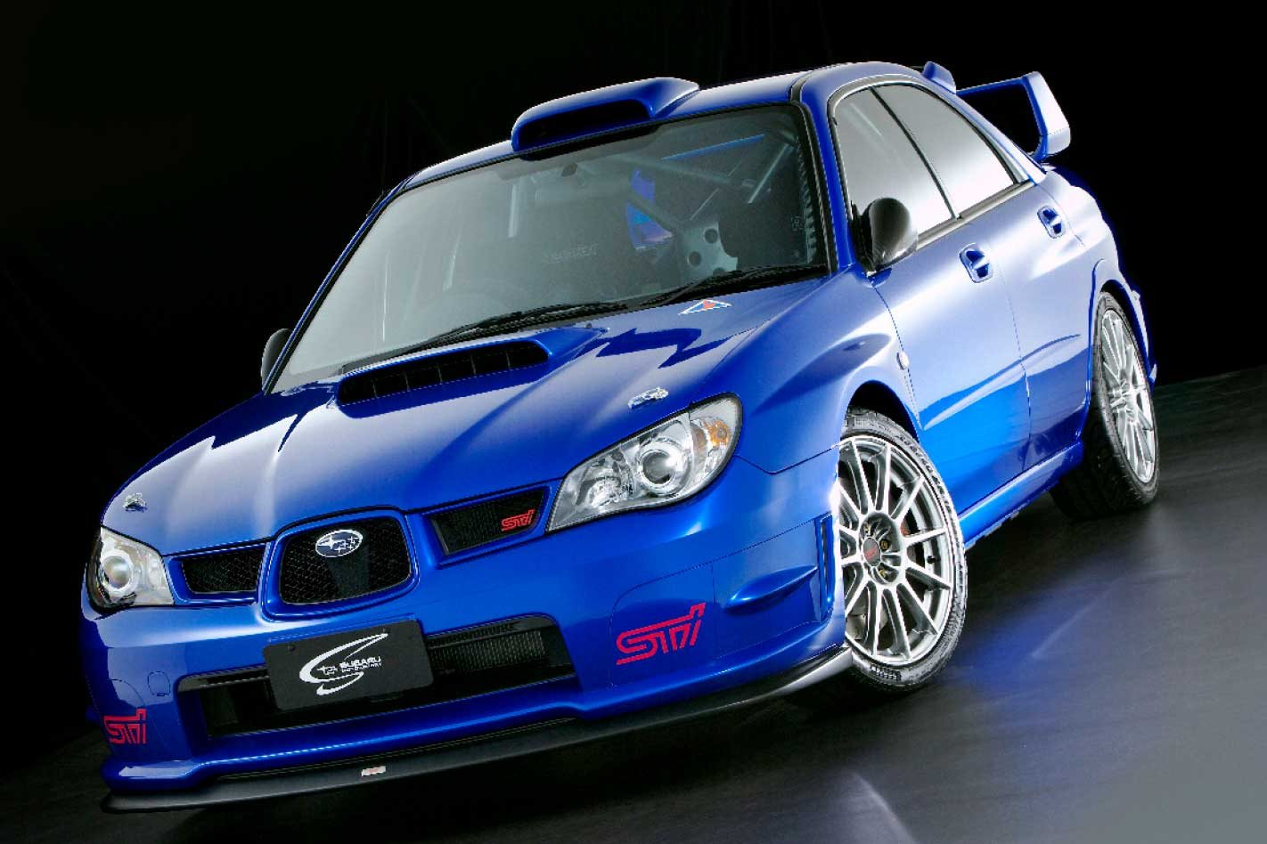 2007 Subaru Impreza Sti Spec C Legend Series