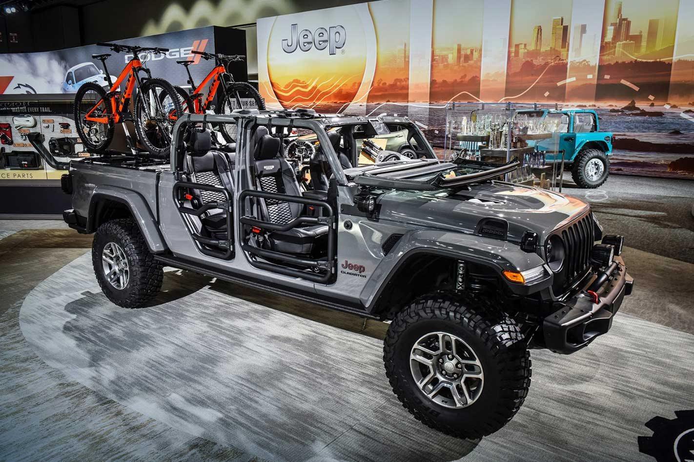 Mopar accessorises the 2020 Jeep Gladiator: video
