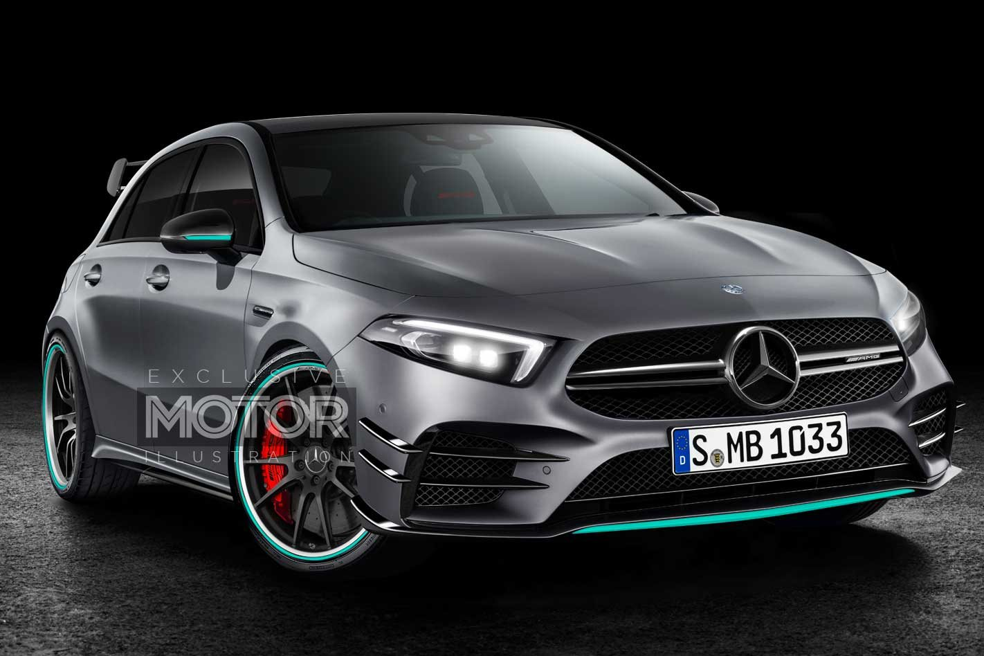 2020 Mercedes Amg A45 Preview