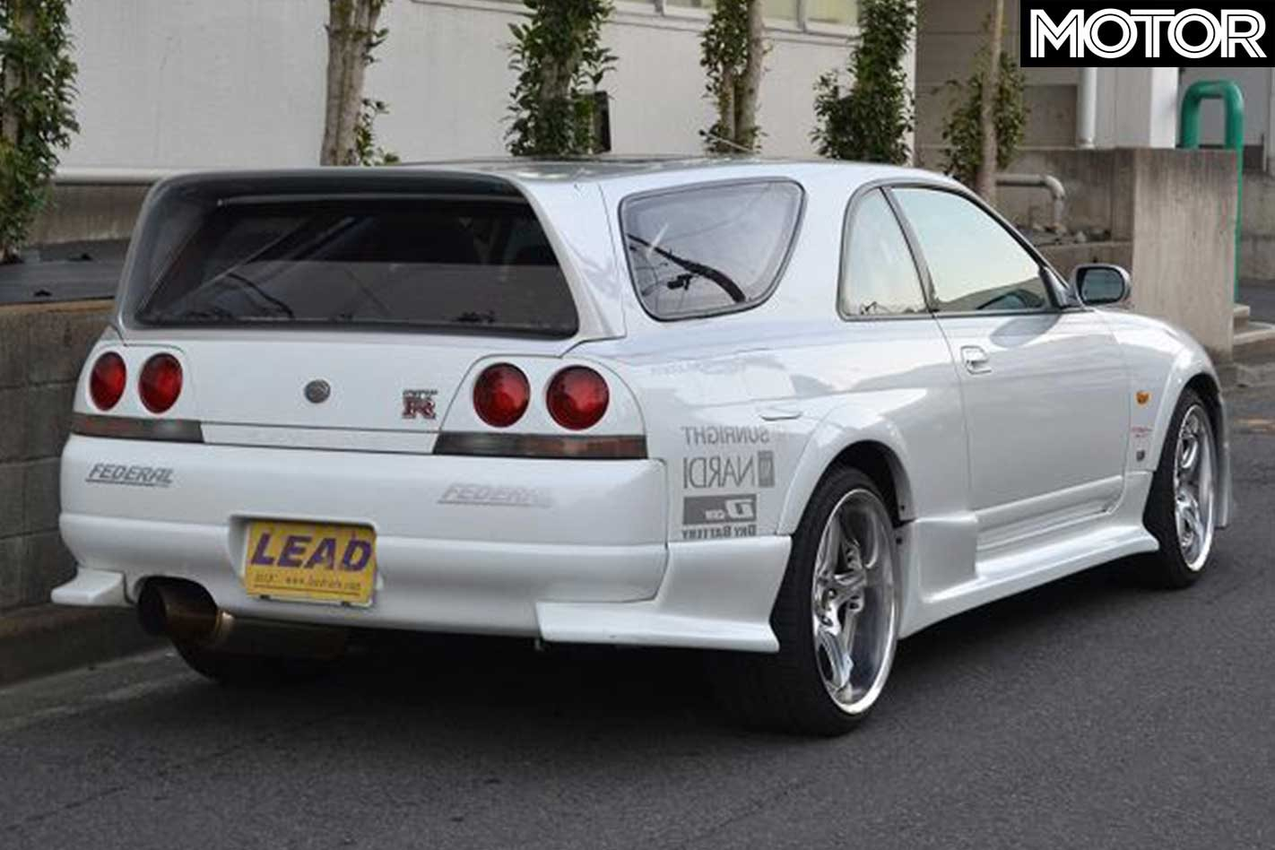 Nissan R33 Skyline GT-R 'shooting brake' for sale
