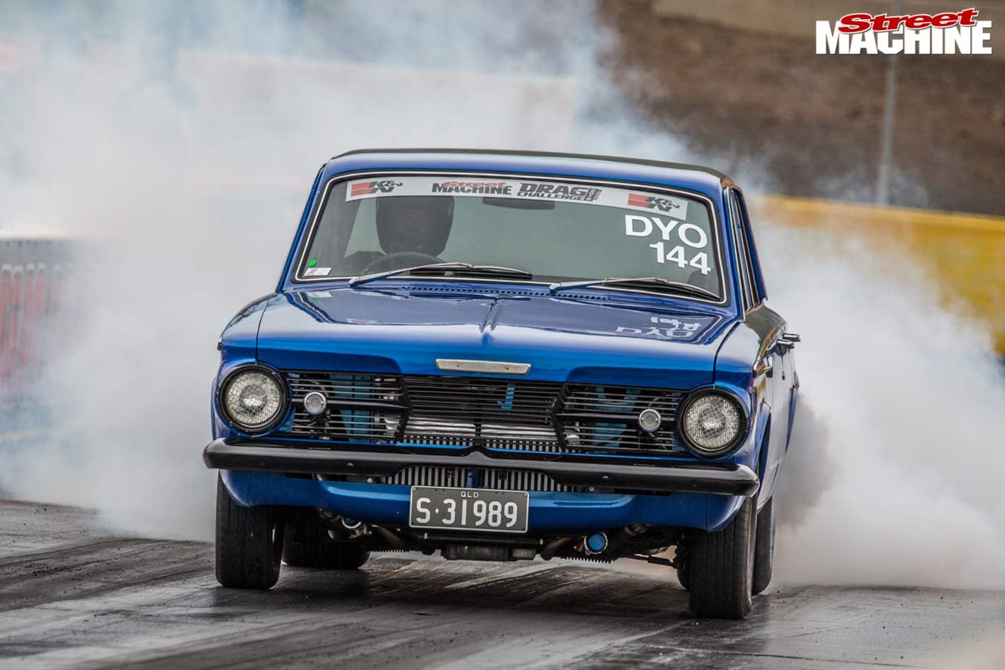 Ls Swapped 1963 Ap6 Valiant Debuts At Drag Challenge 2018
