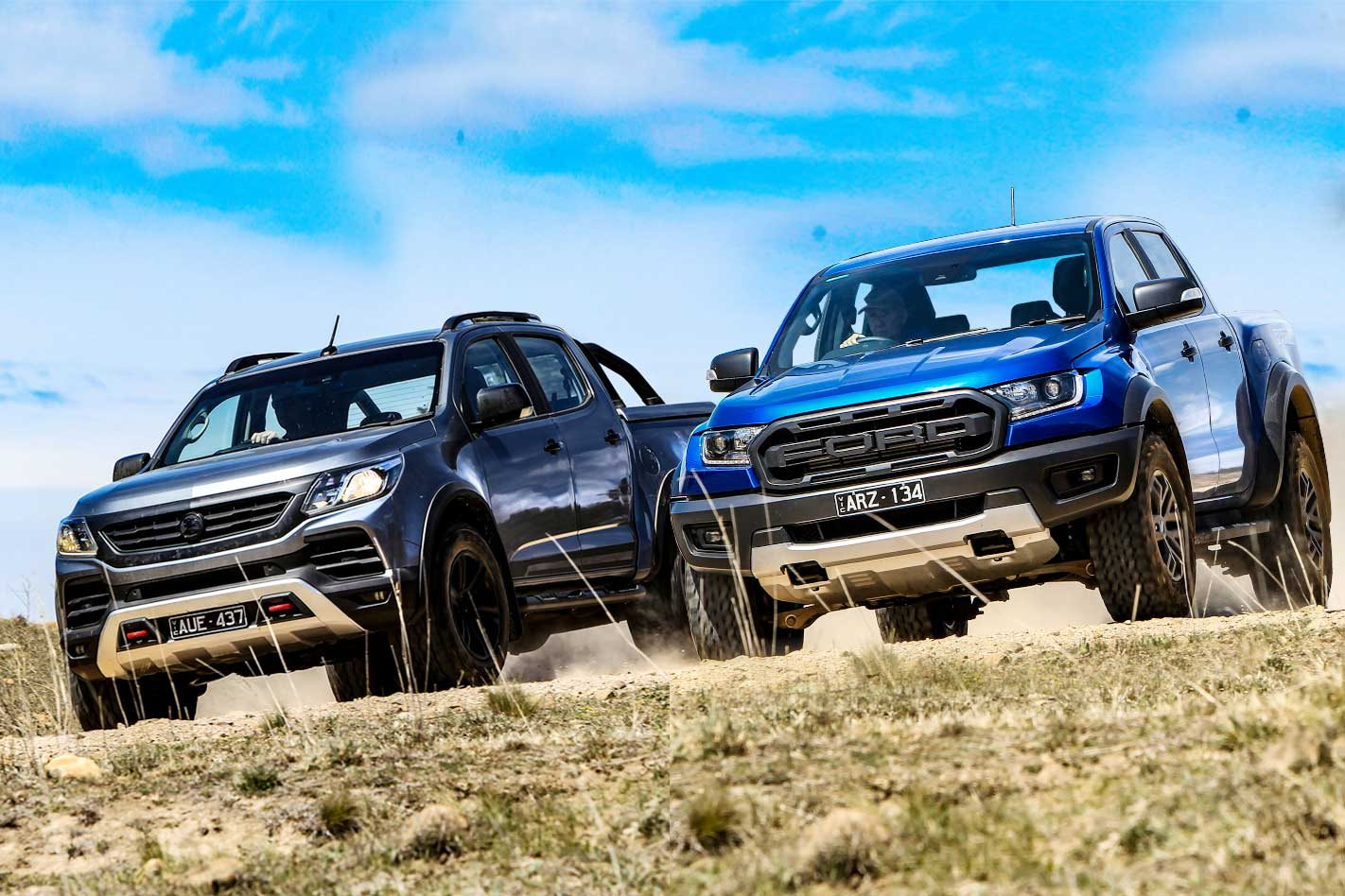 2018 Hsv Colorado Sportscat Vs Ford Ranger Raptor 4x4 Comparison Review