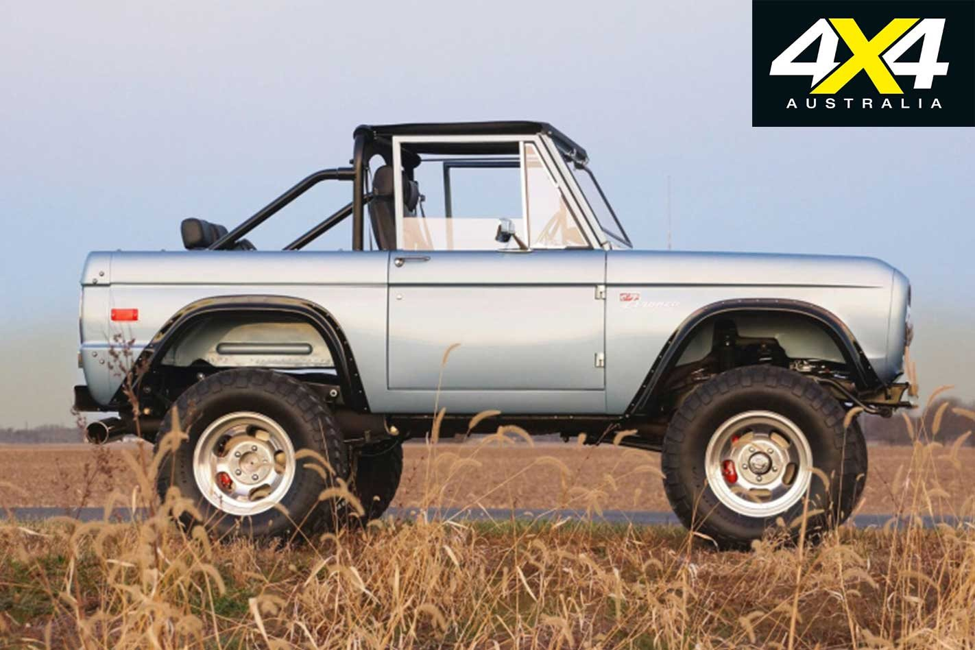 Gateway Bronco To Build As New 1966 77 Broncos Under License From Ford