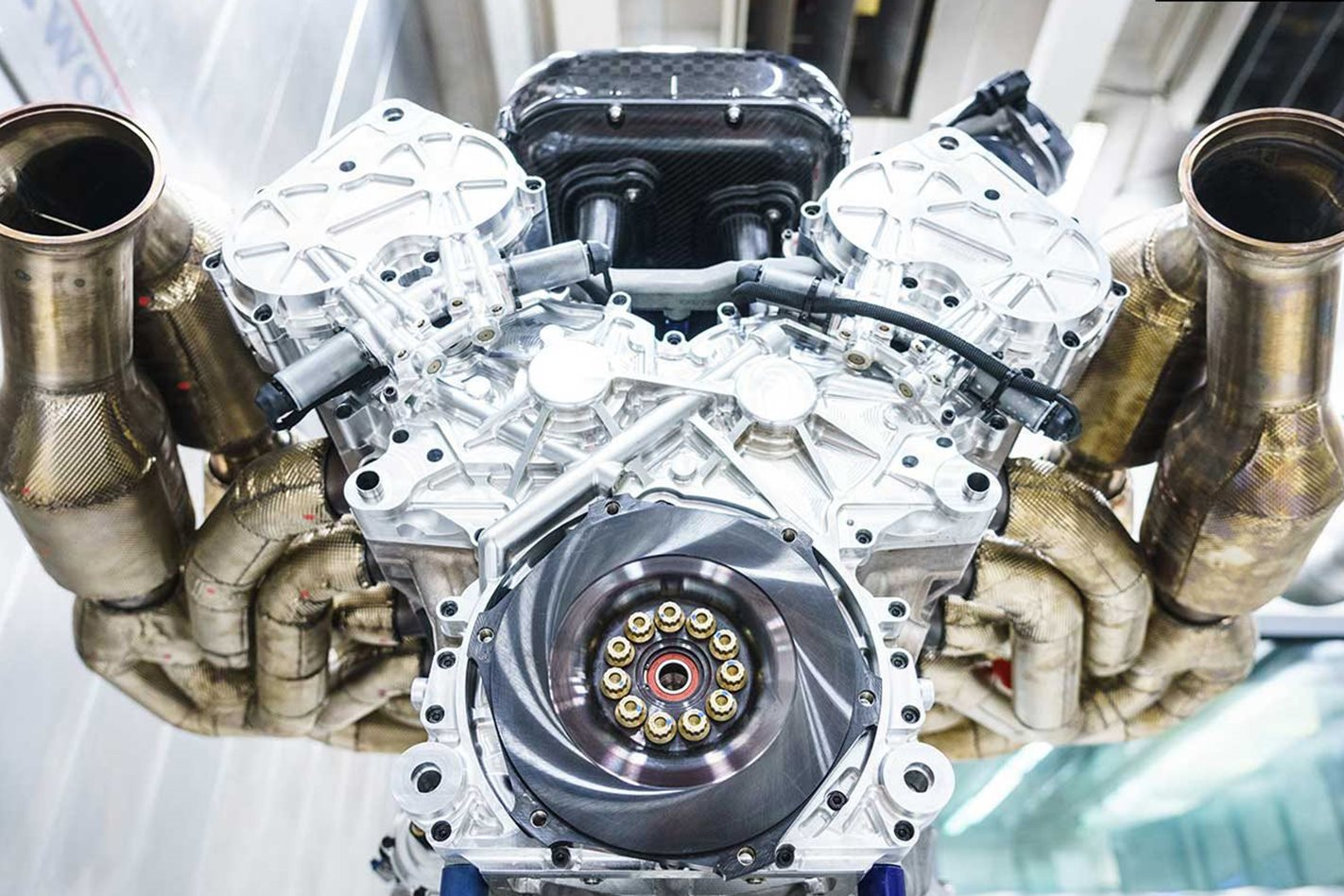 We Had A Three Cylinder Engine Which Was An Absolute Quarter Of The Valkyrie Because We Have Four Catalysts So Each Catalyst Serves Three Cylinders
