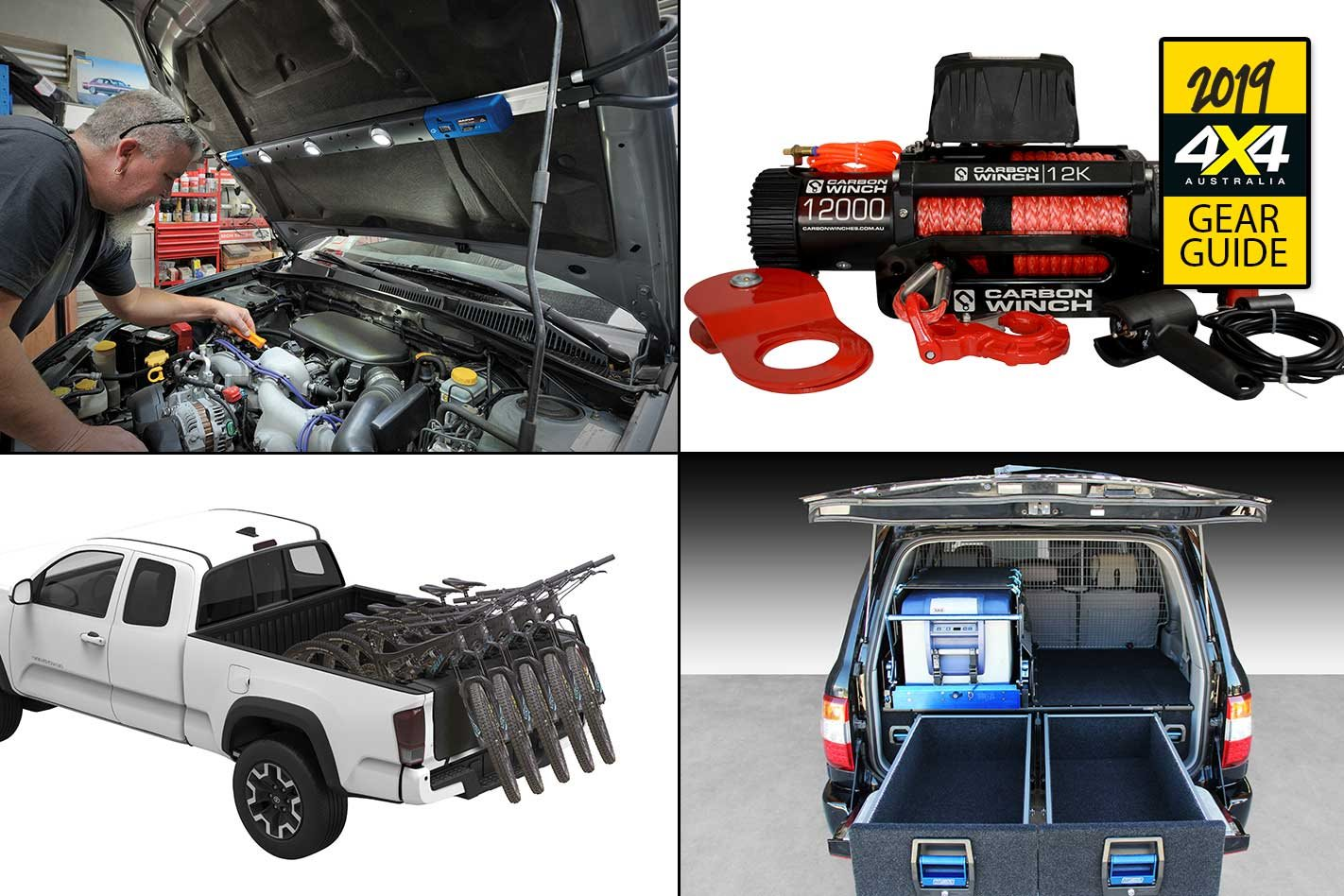 Best Gear of 2018: Narva LED lights, Carbon Winches, MSA 4x4 drawers