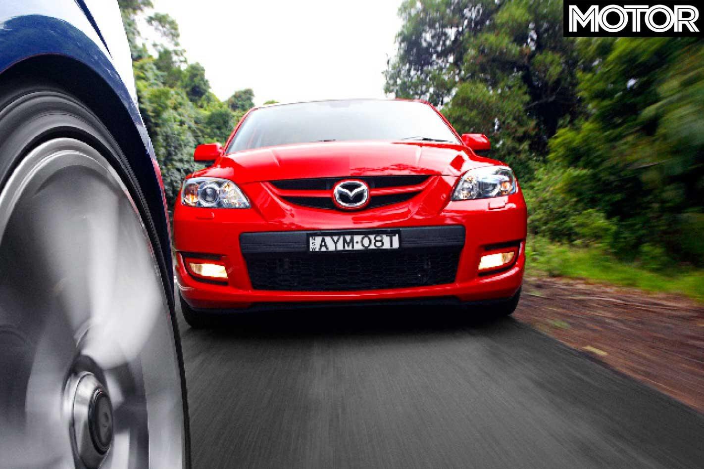 2007 HSV Astra VXR vs Mazda 3 MPS comparison review: classic