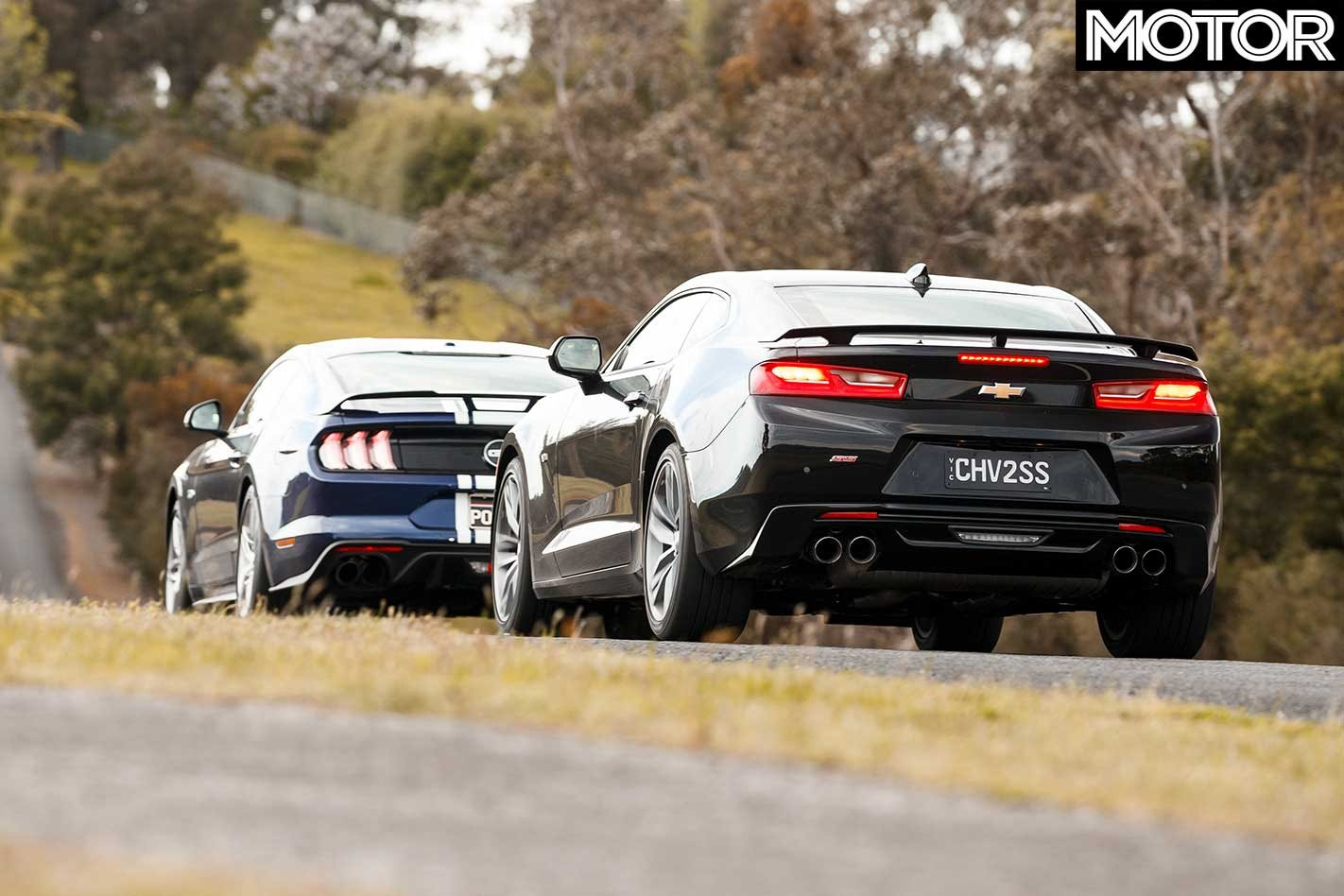 2018 Chevrolet Camaro 2SS vs Ford Mustang GT comparison review
