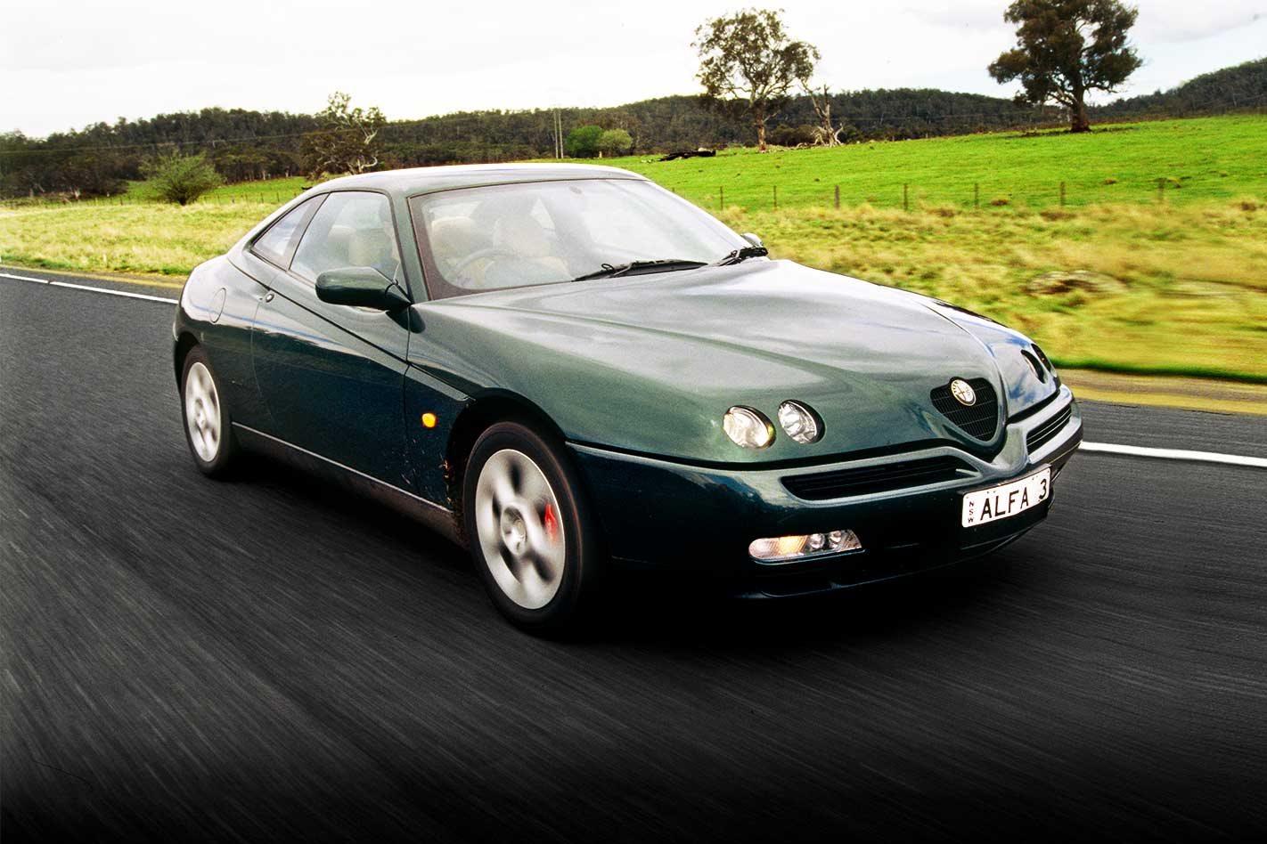 Alfa Romeo GTV Spider 1998 Bonnet Lifters NEW