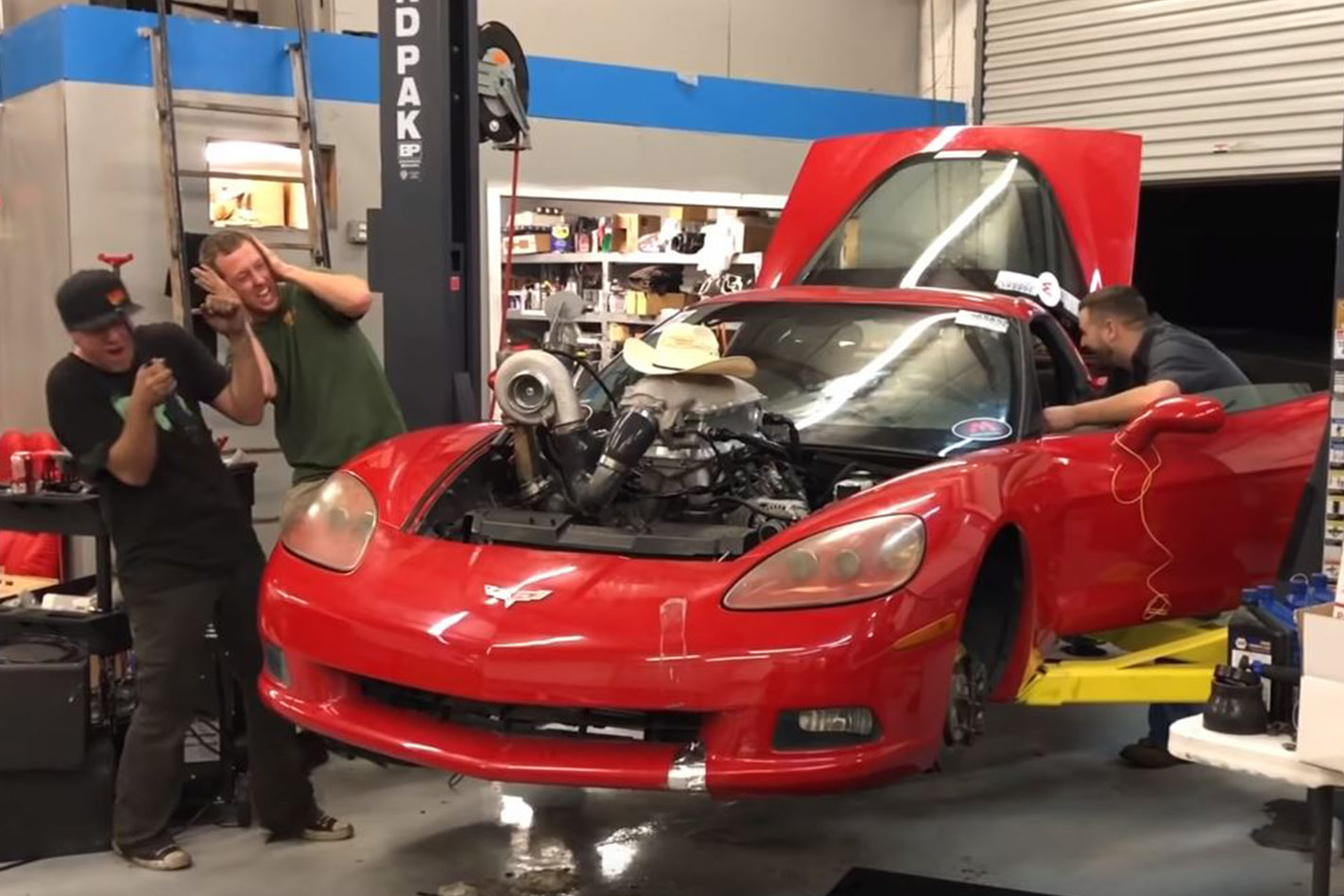 Cleetus McFarland's 740hp turbo LS-powered C6 Corvette budget build