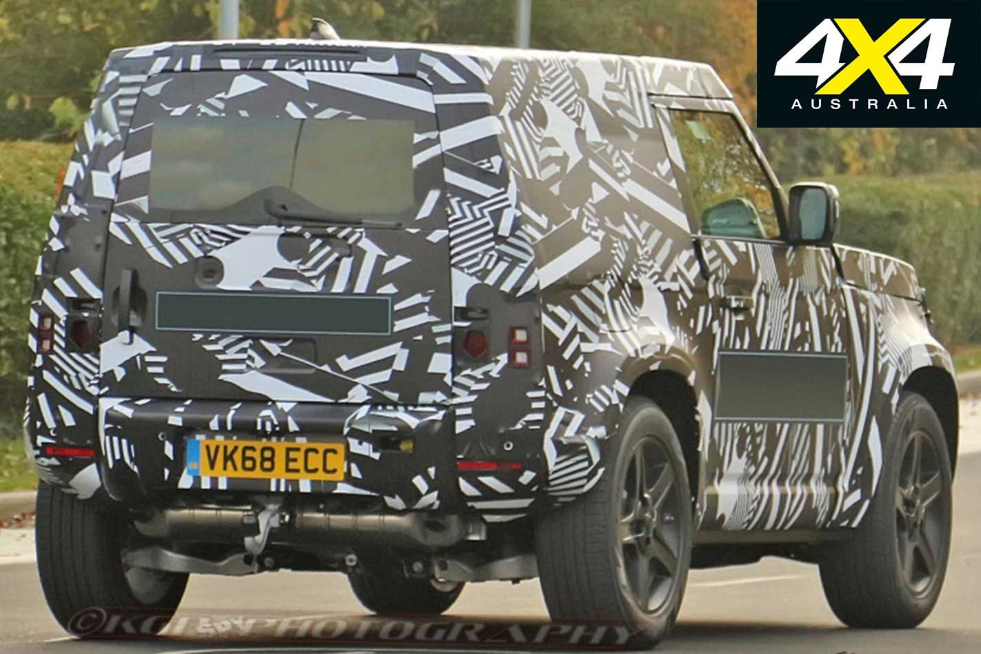 2020 Land Rover Defender Not Far Away