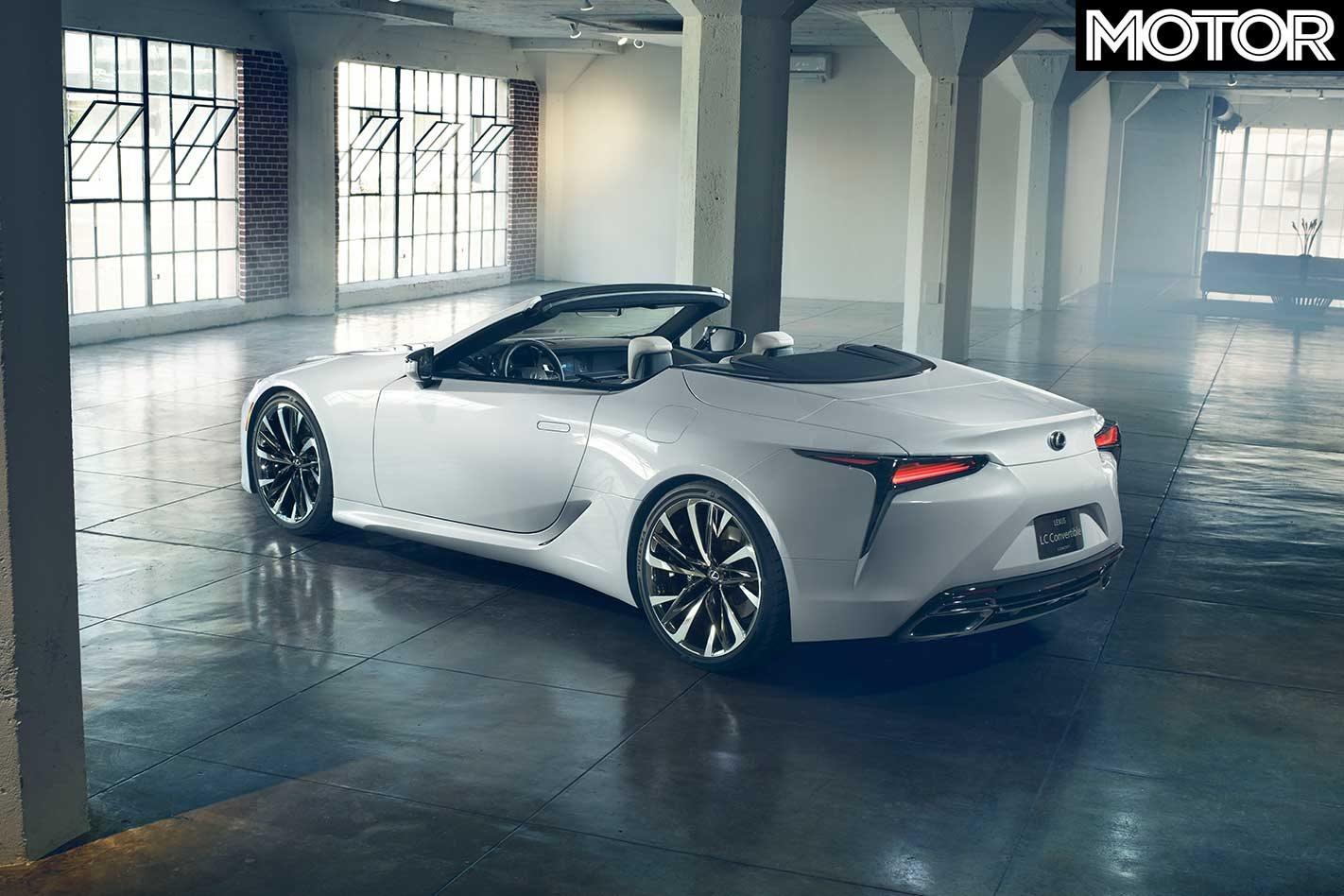 2019 detroit auto show  lexus lc convertible concept revealed
