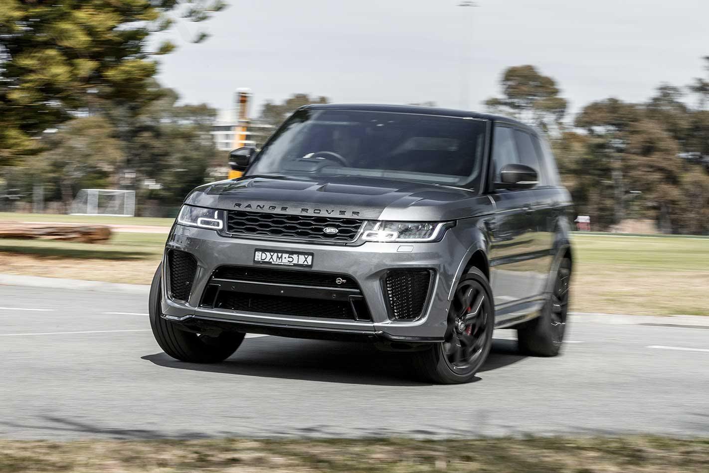 2019 Range Rover Sport SVR performance review