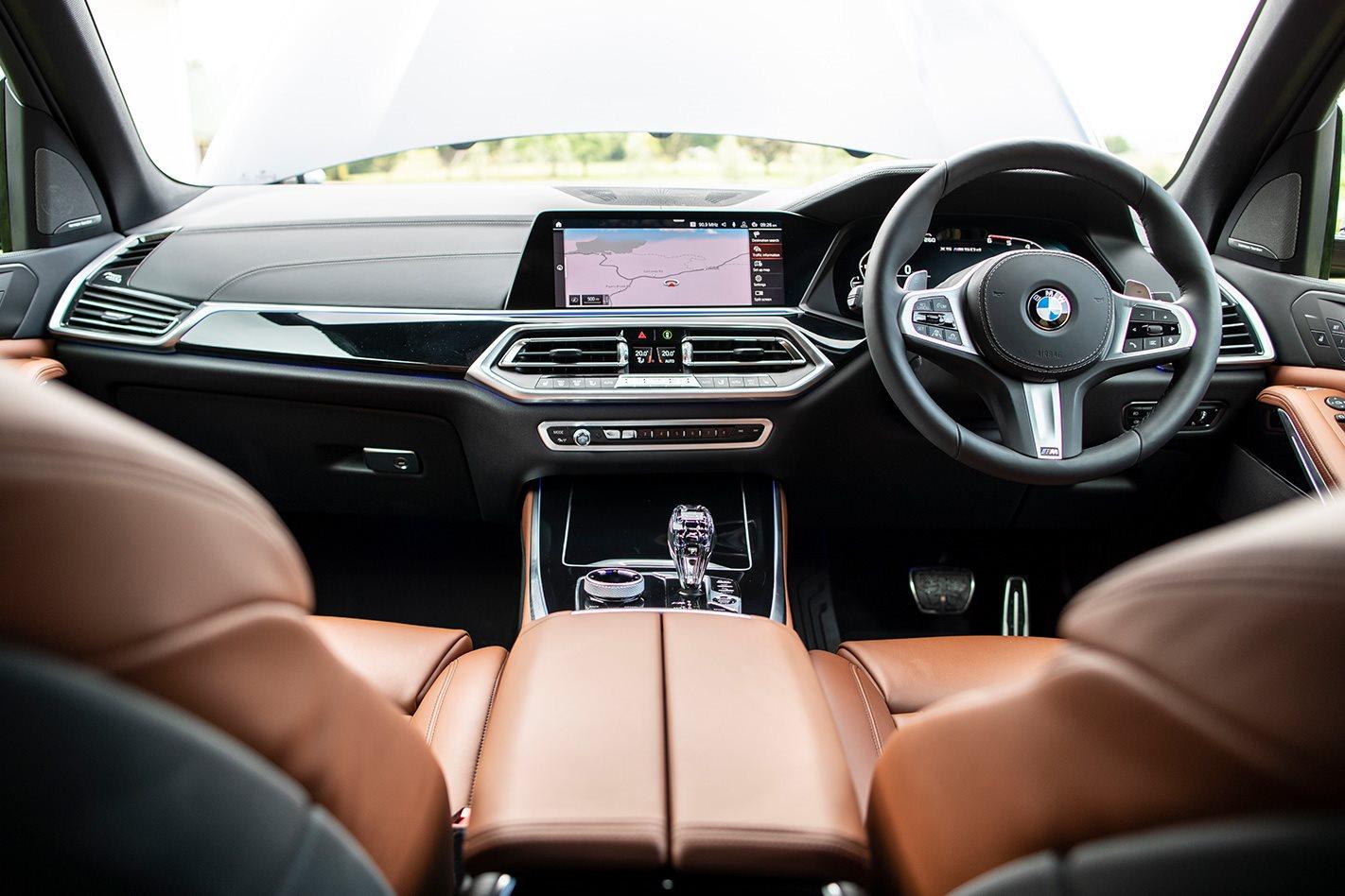 Bmw X5 M50d 2019 Interior