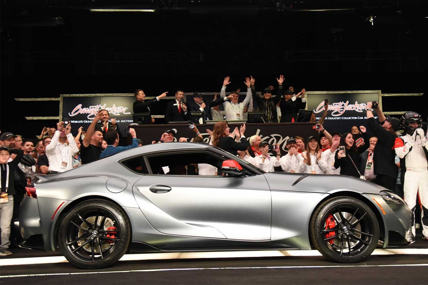 First 2020 Toyota GR Supra sells for almost $3m
