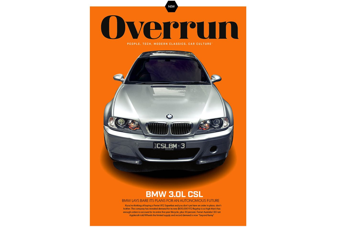 introducing overrun: the newest addition to wheels magazine