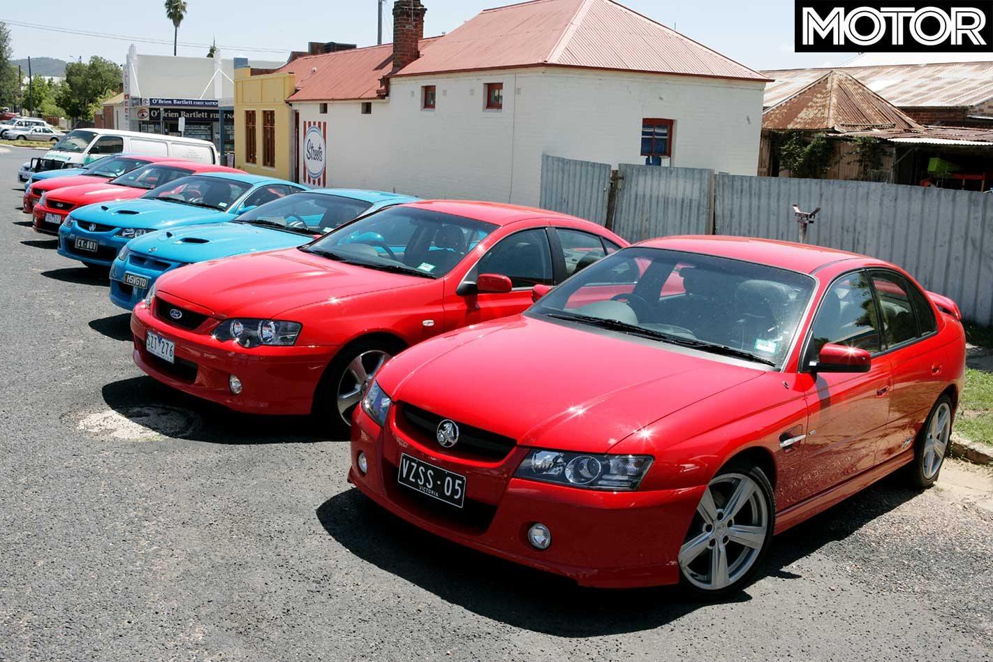 All Aussie Showdown 2005: Holden Commodore SS vs Monaro CV8 vs