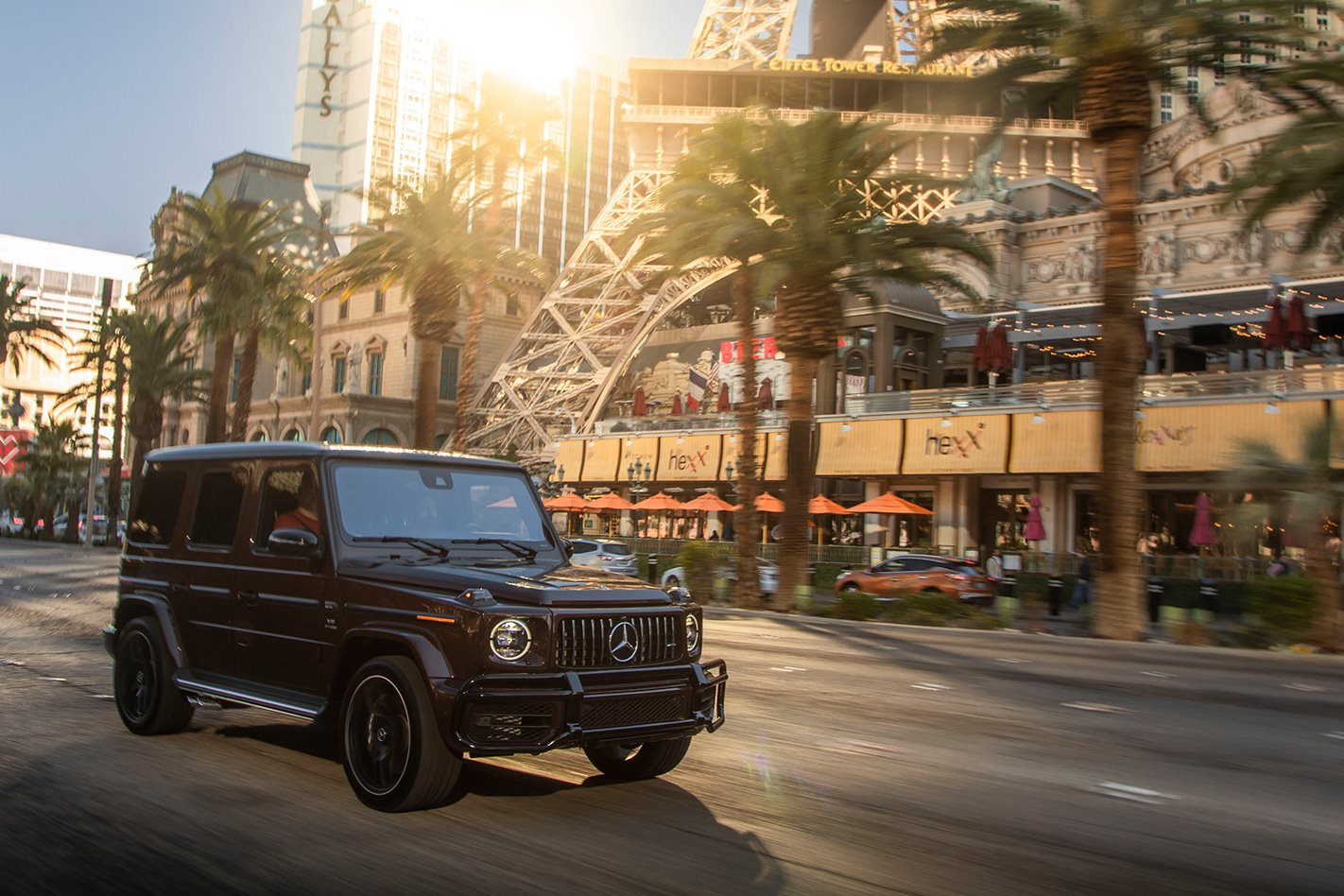 Top Gear Tyres >> 2019 Mercedes-AMG G63: from Las Vegas to LAX
